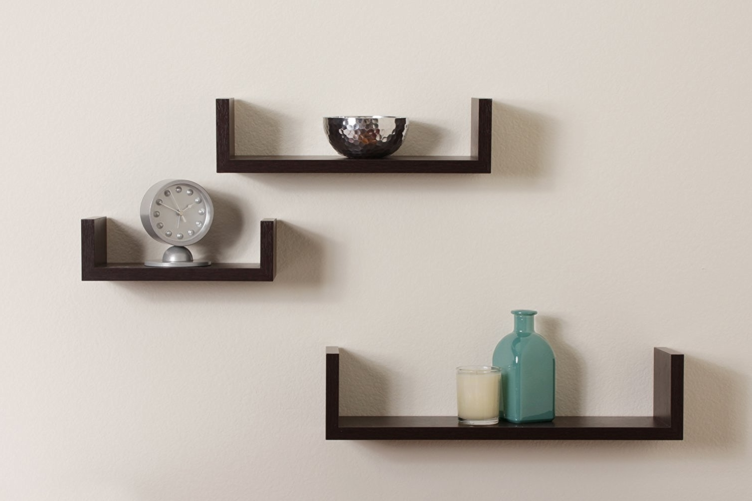 Top 16 Black Floating Wall Shelves Of 2016 2017 Review Regarding Well Known Wall Shelves (View 12 of 15)