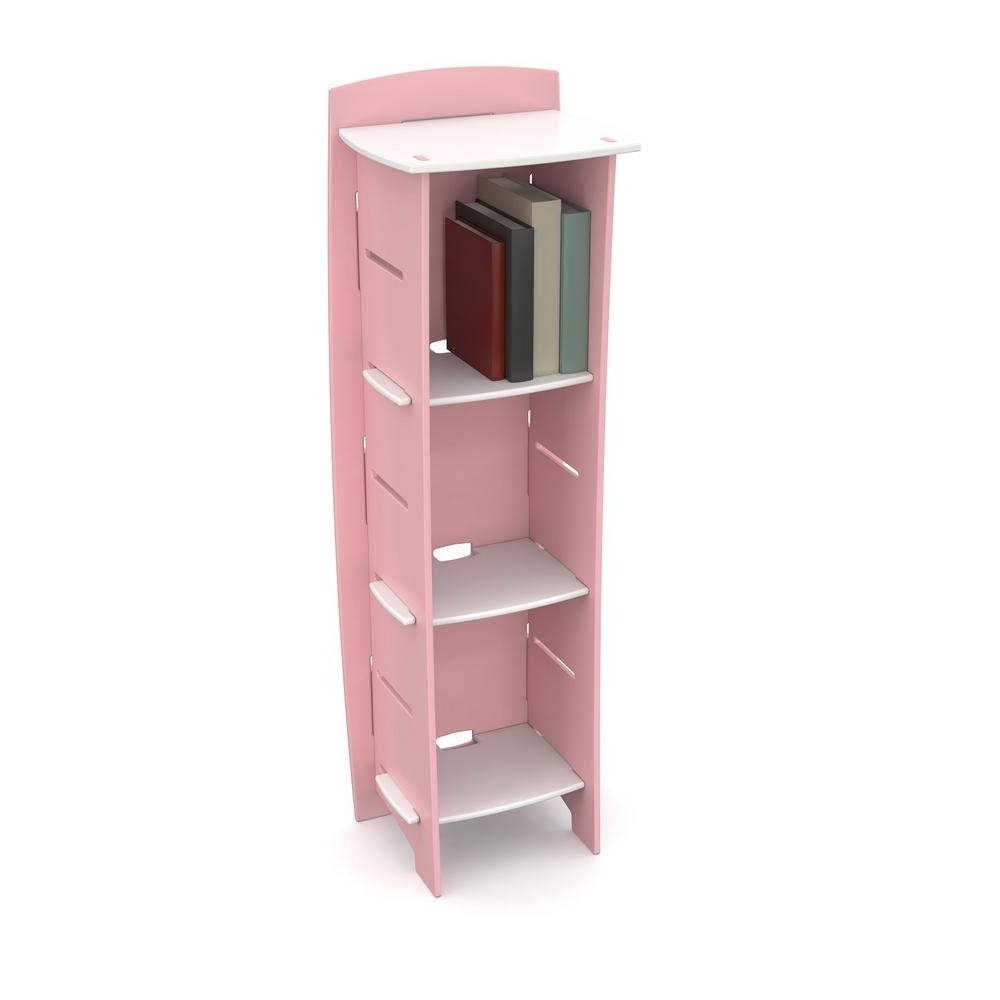 Tot Tutors Friends Collection White/pink/purple Kids Book Rack For 2017 Pink Bookcases (View 13 of 15)