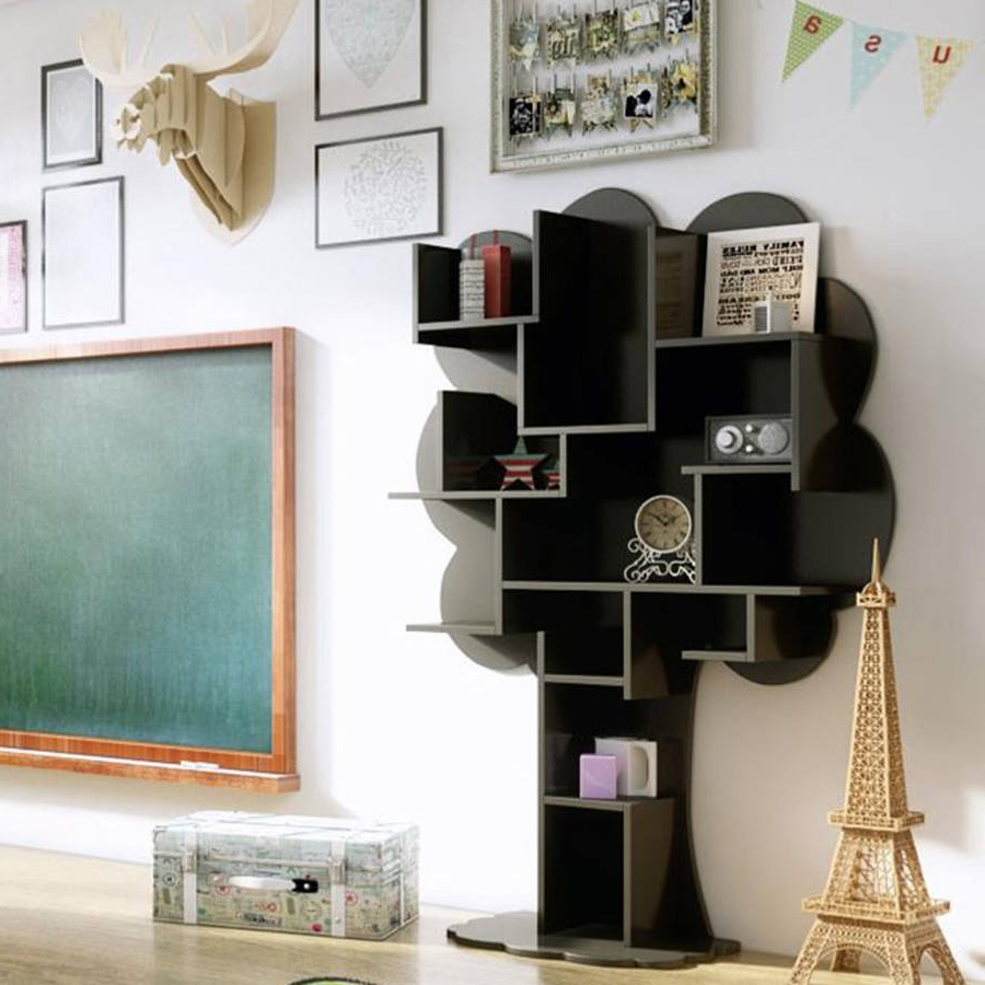 Tree Bookcases Intended For Trendy Bookcases (View 10 of 15)