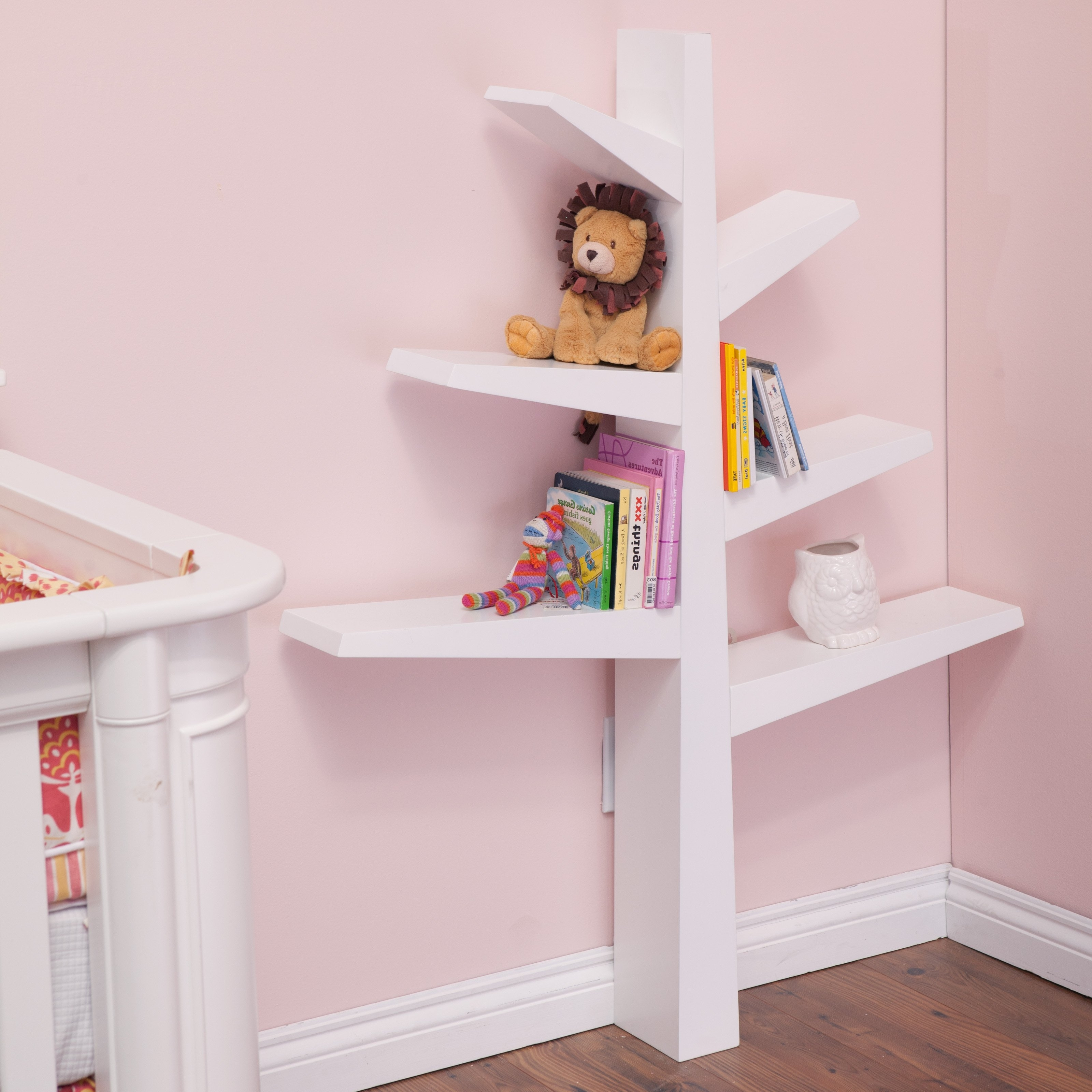 Tree Bookcases Regarding Fashionable Babyletto Spruce Tree Bookcase (View 12 of 15)
