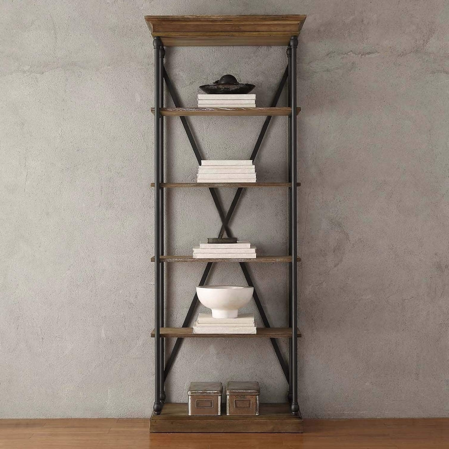 Trendy Barnstone Cornice Etagere Bookcaseinspire Q Artisan – Free Intended For Etagere Bookcases (View 12 of 15)