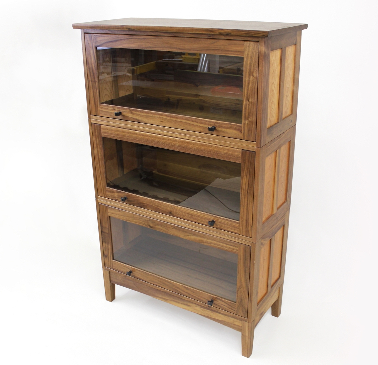 Trendy Barrister's Bookcase – The Wood Whisperer Guild Pertaining To Barrister Bookcases (View 5 of 15)