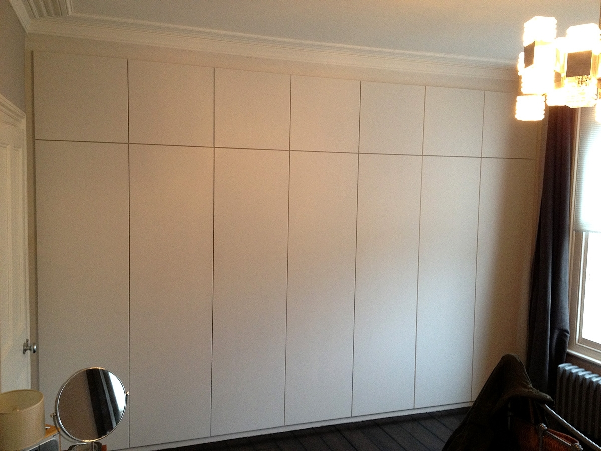 Trendy Bespoke Cupboard Regarding Fitted Wardrobes, Bookcases, Shelving, Floating Shelves, London (View 15 of 15)