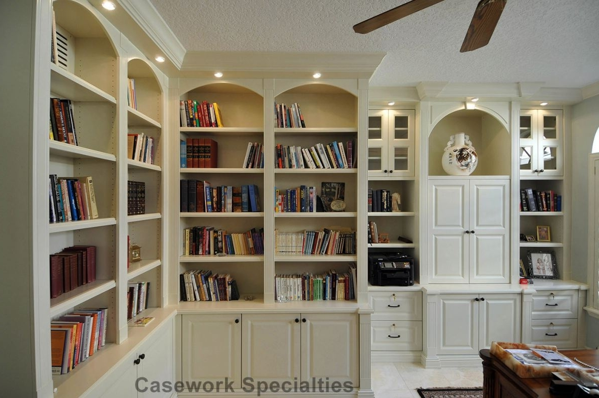 Trendy Corner Library Bookcases Intended For Corner Library Bookcase (View 6 of 15)