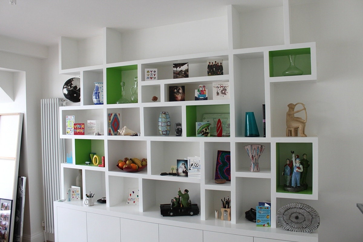 Trendy Fitted Book Shelves With Regard To Furniture Home: Bookcase Made To Measure Bookshelf Stunning (View 12 of 15)