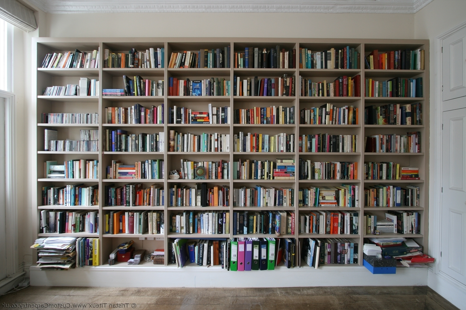Trendy Fitted Shelves Within First Bespoke Fitted Bookcase I Ever Built – Empatika (View 14 of 15)