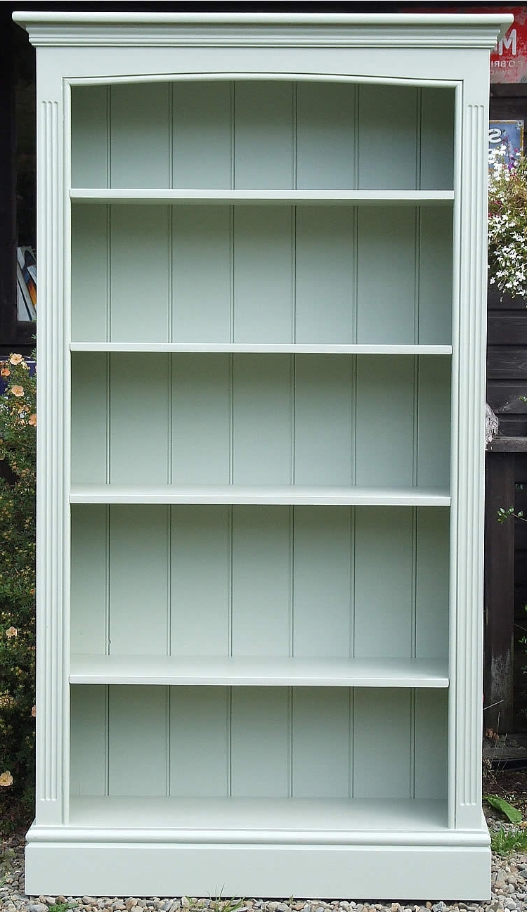 Trendy Free Standing Bookcases With Painted Bookshelves (View 12 of 15)
