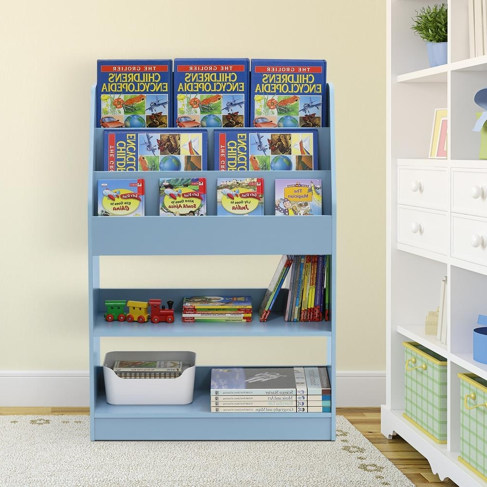 Trendy Furinno Kidkanac Pink Toy Storage Cabinet Bookshelf Fr16119pk Regarding Blue Bookcases (View 6 of 15)