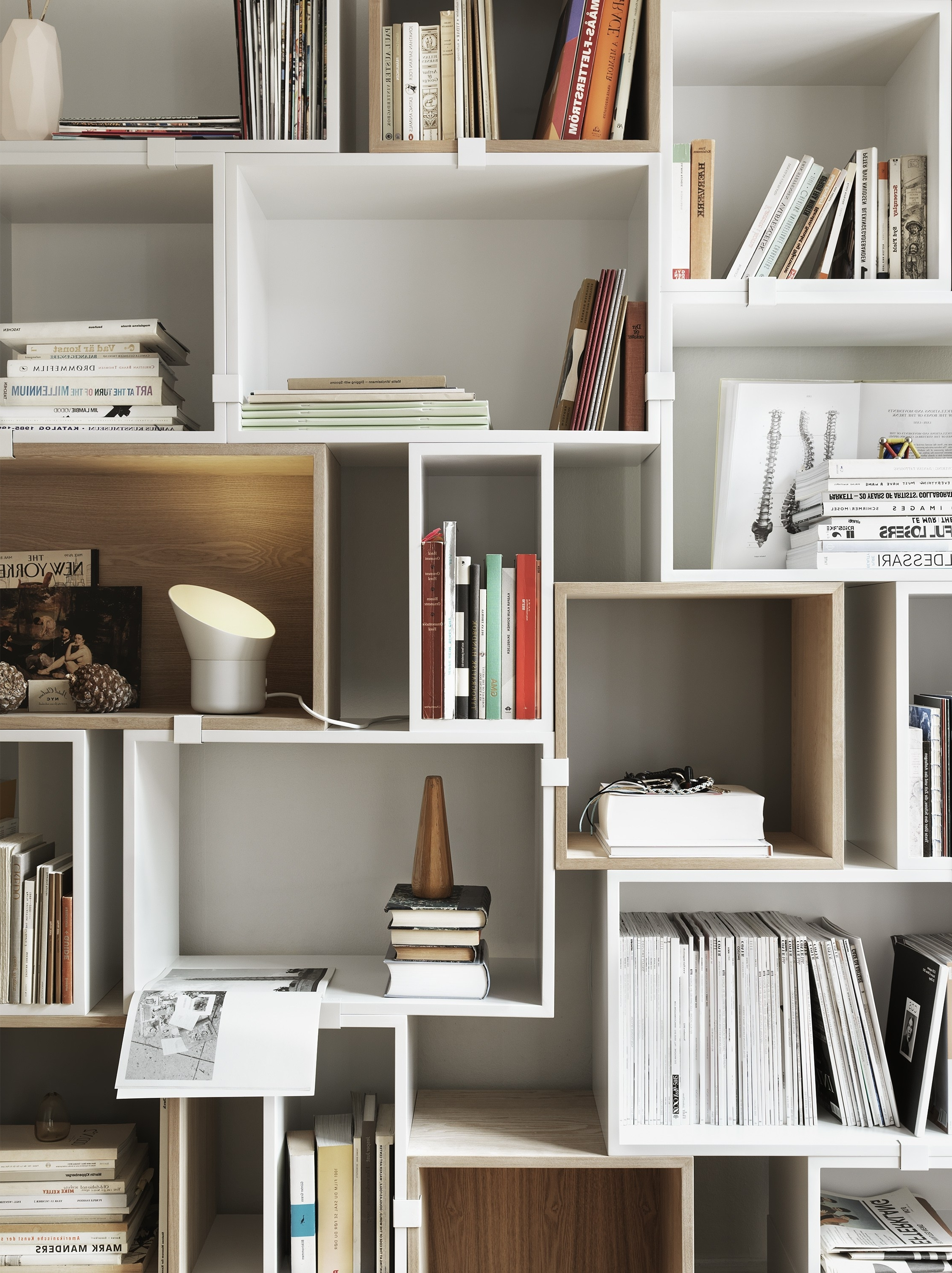 Trendy Home Shelving Systems Within Bookcase Stacked Collection@muuto (View 14 of 15)