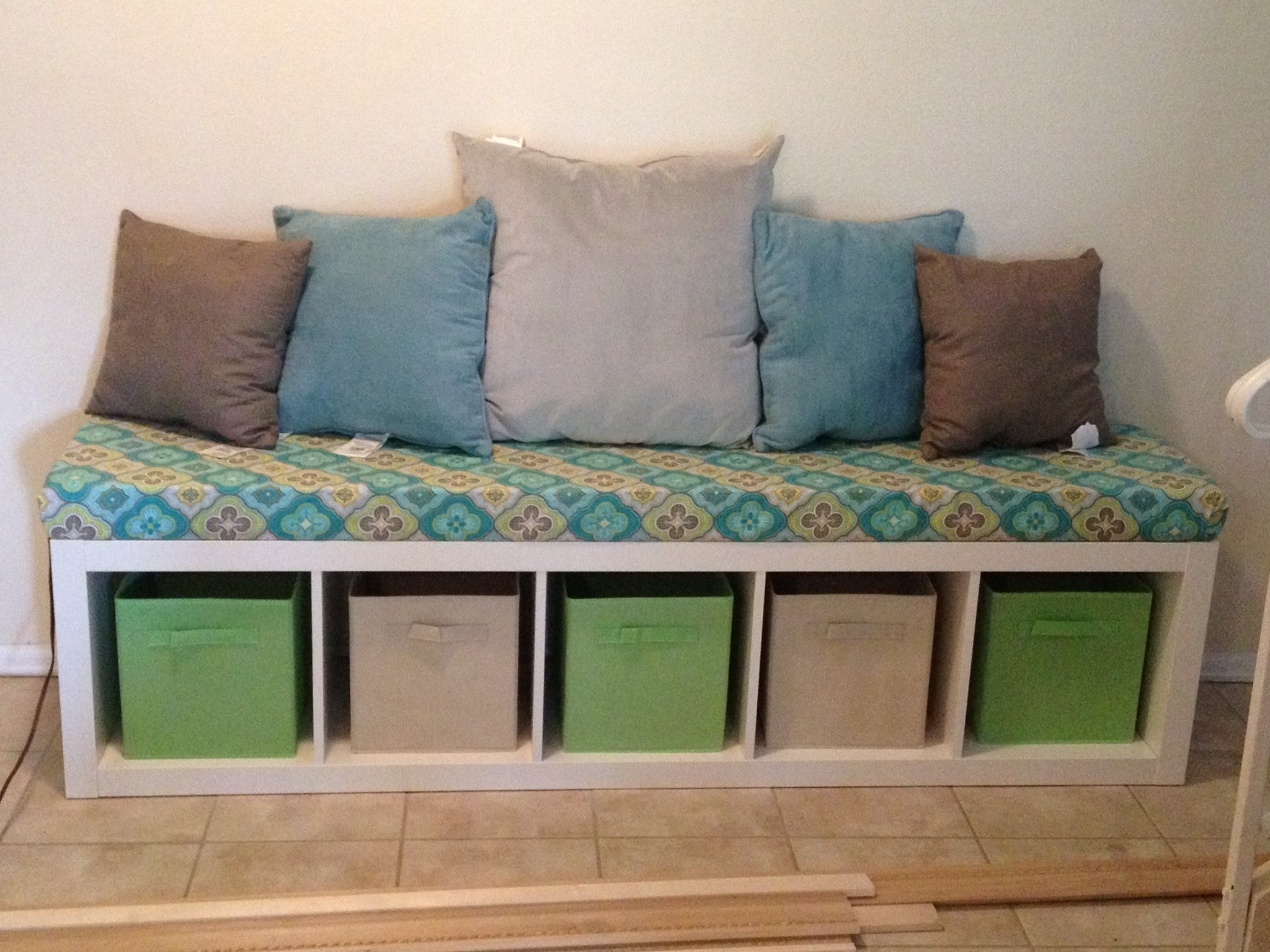 Trendy Ikea Expedit Bookshelf Bench For Reading Area? Nook In Basement In Bench Bookcases (View 2 of 15)