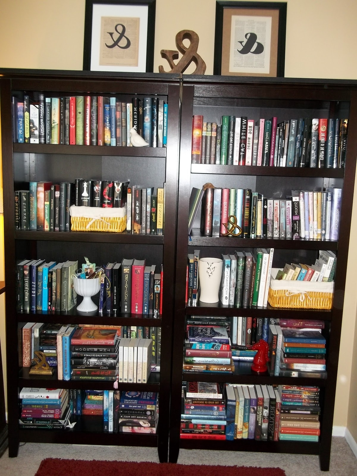 Trendy Le&ndra Wallace: A New Bookcase Inside Carson 5 Shelf Bookcases (View 3 of 15)