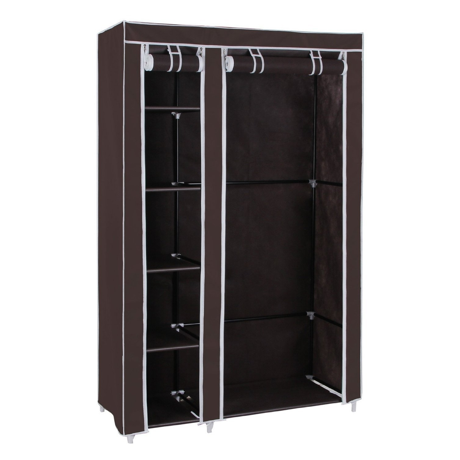Trendy Mobile Wardrobes Cabinets In Closet Storage : Portable Clothing Racks Storage Clothing Custom (View 13 of 15)