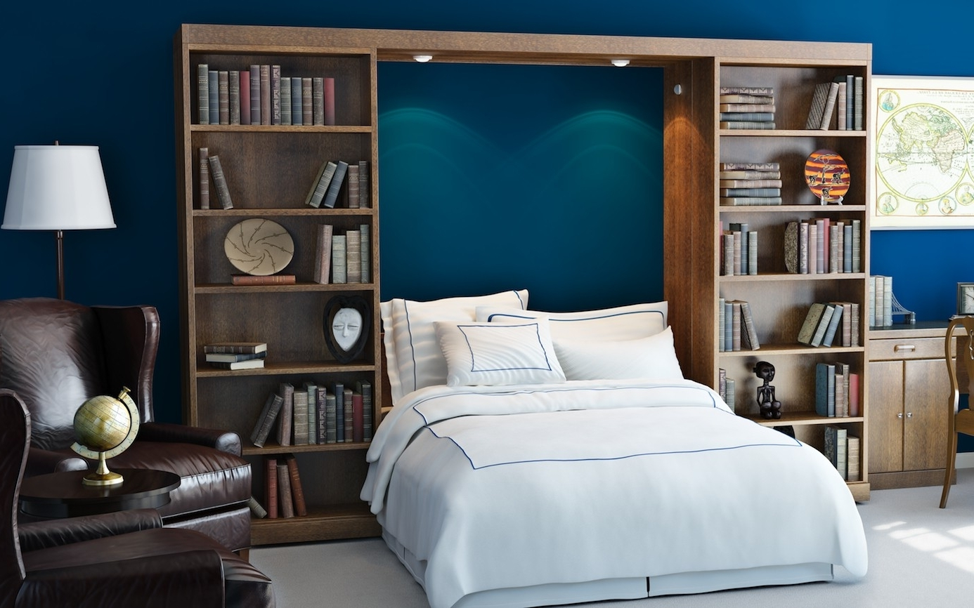 Trendy Murphy Bed Bookcases In Murphy Beds With Bookcases (View 12 of 15)