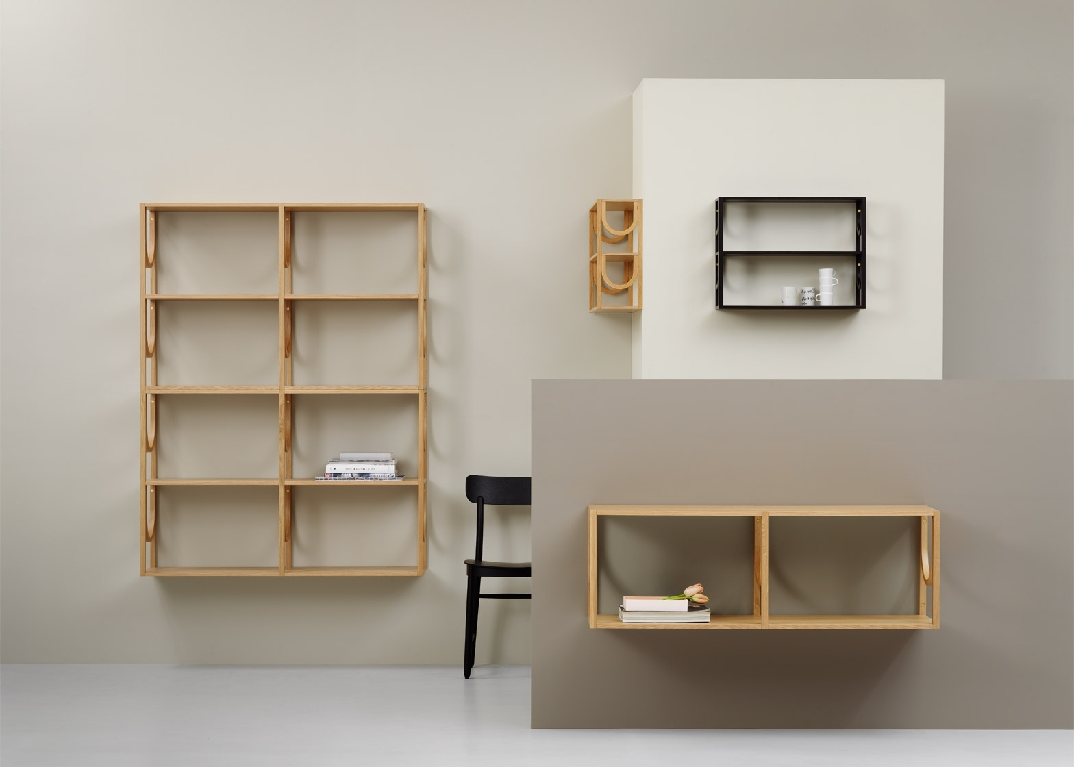 Trendy Note Design Designs Modular Arch Bookshelf System For Fogia In Modular Bookcases (View 12 of 15)