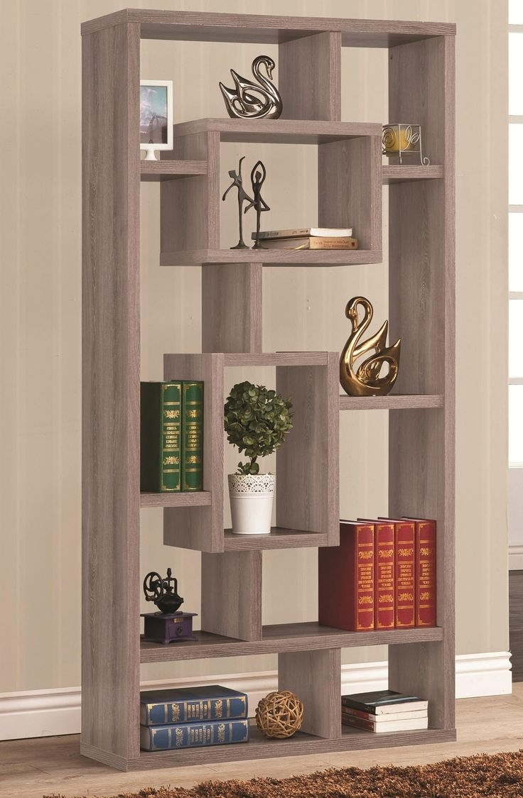 Trendy Open Back Bookcases Throughout Bookcases : Tall Narrow White Bookshelf Small Wooden Bookshelf (View 15 of 15)