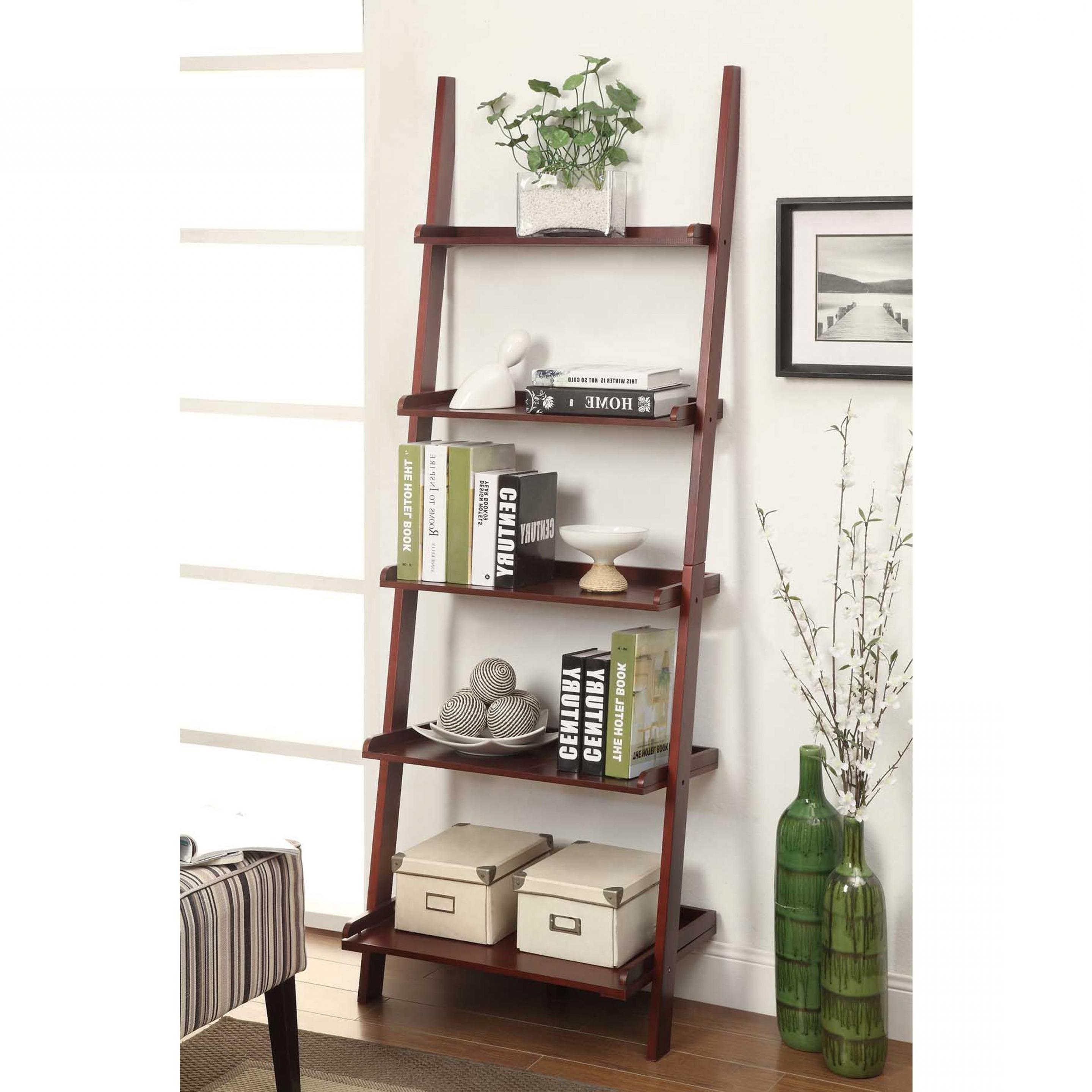 Trendy Target Leaning Bookcases Throughout Target Ladder Bookshelf (View 10 of 15)
