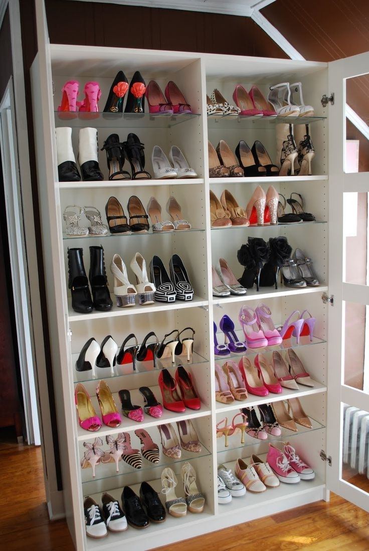 Trendy Wardrobes Shoe Storages In Closet Storage : Men's Over The Door Shoe Organizer Shoe Holder (View 13 of 15)