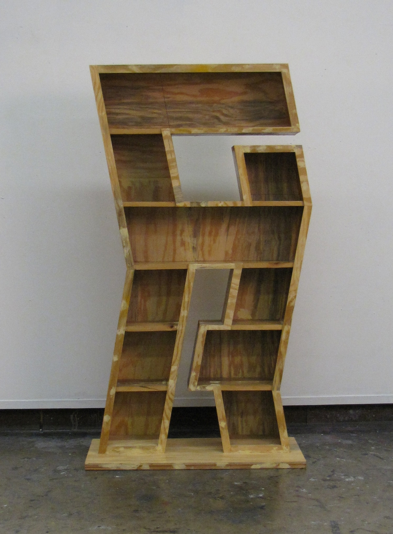 Trendy Zig Zag Bookcases In Spencer Mcneil (View 6 of 15)