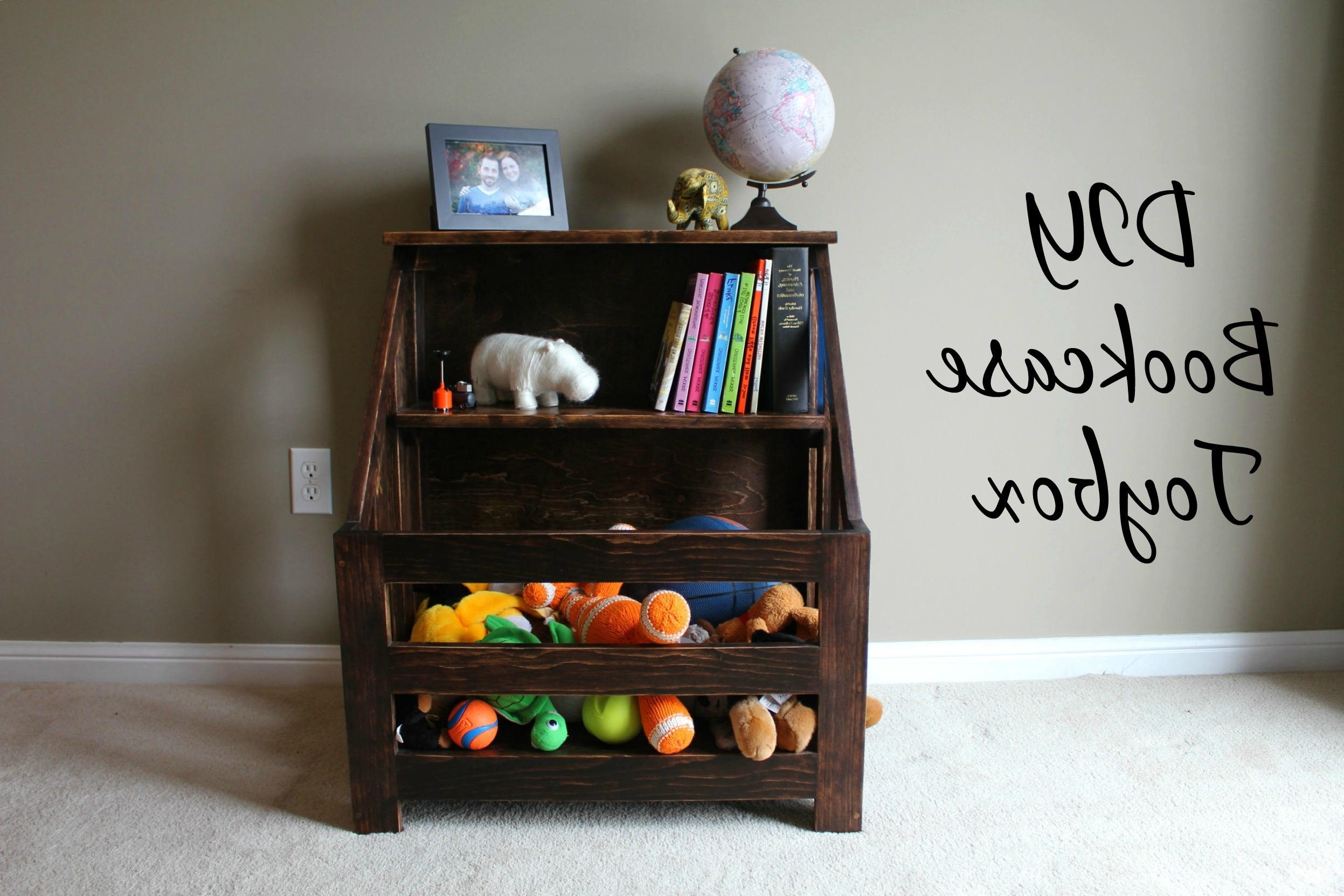 Turtles And Tails: Bookshelf Toybox Combo (Diy) Inside Most Recent Bookshelves Drawer Combination (View 13 of 15)