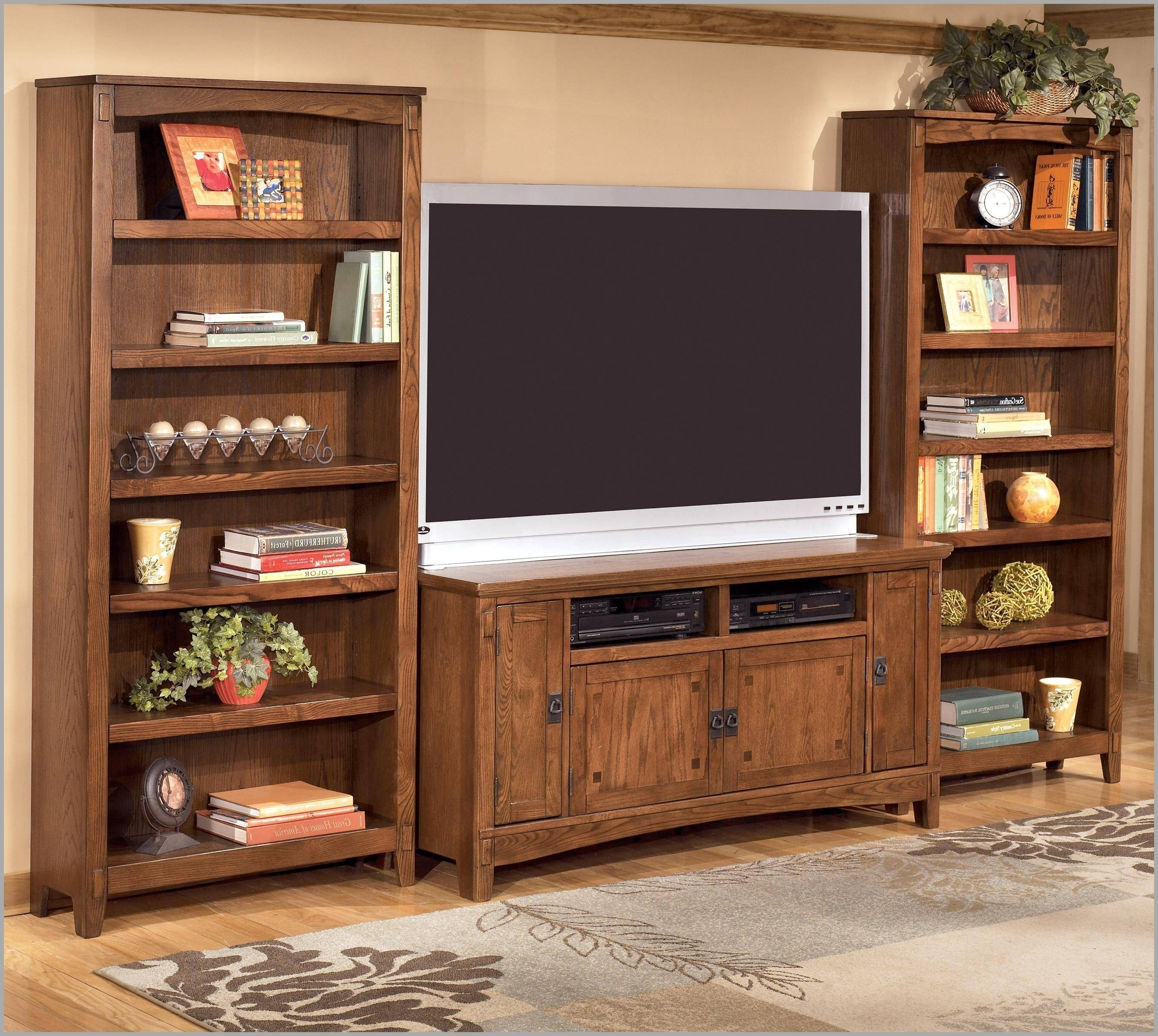 Tv Stand Bookcase Combo 305633 15 Best Ideas Of Tv Stands With In Current Book Case Tv (View 13 of 15)
