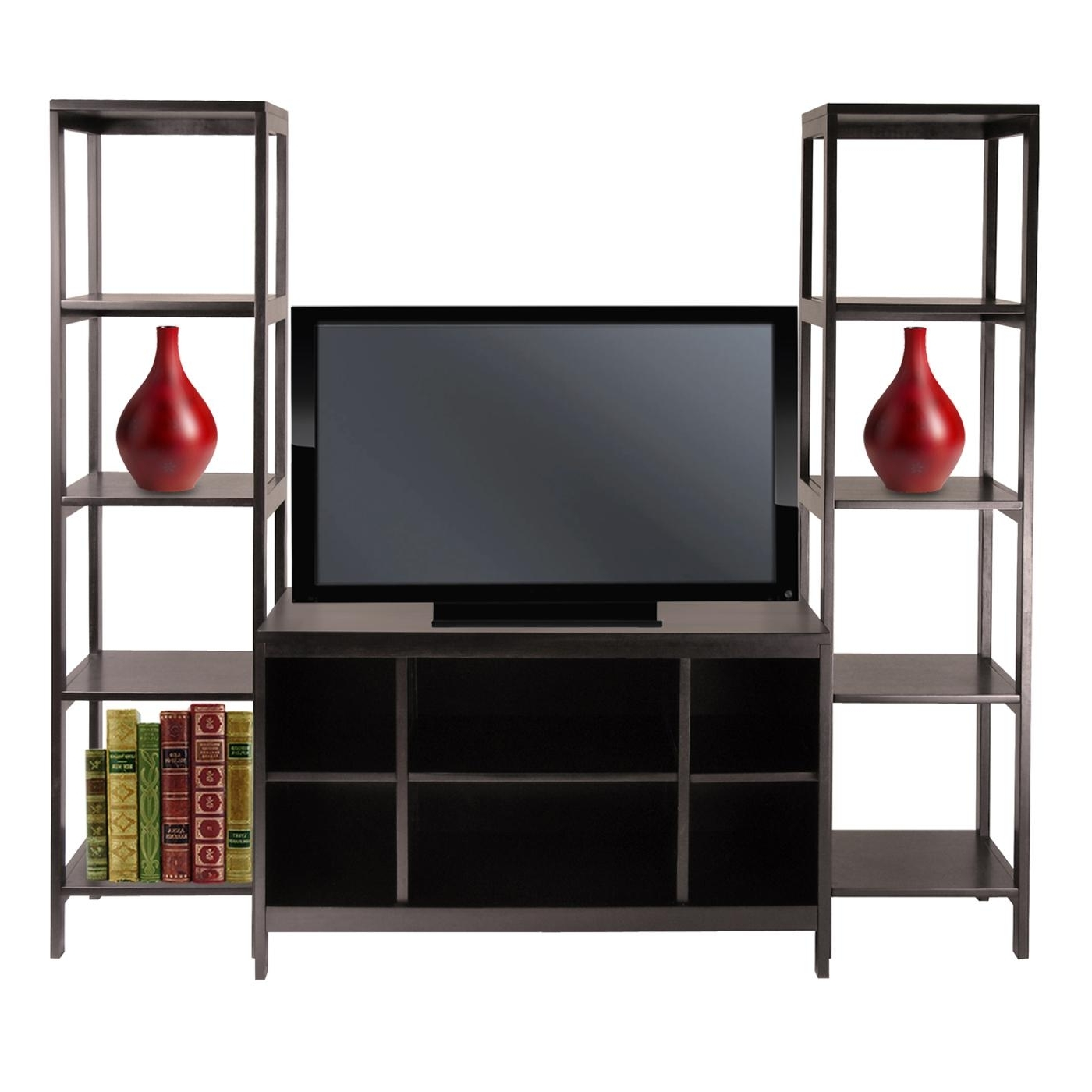 Tv Stand With Bookcases Home Decor Interior Exterior Lovely Under With Best And Newest Bookcases Tv Stand (View 10 of 15)
