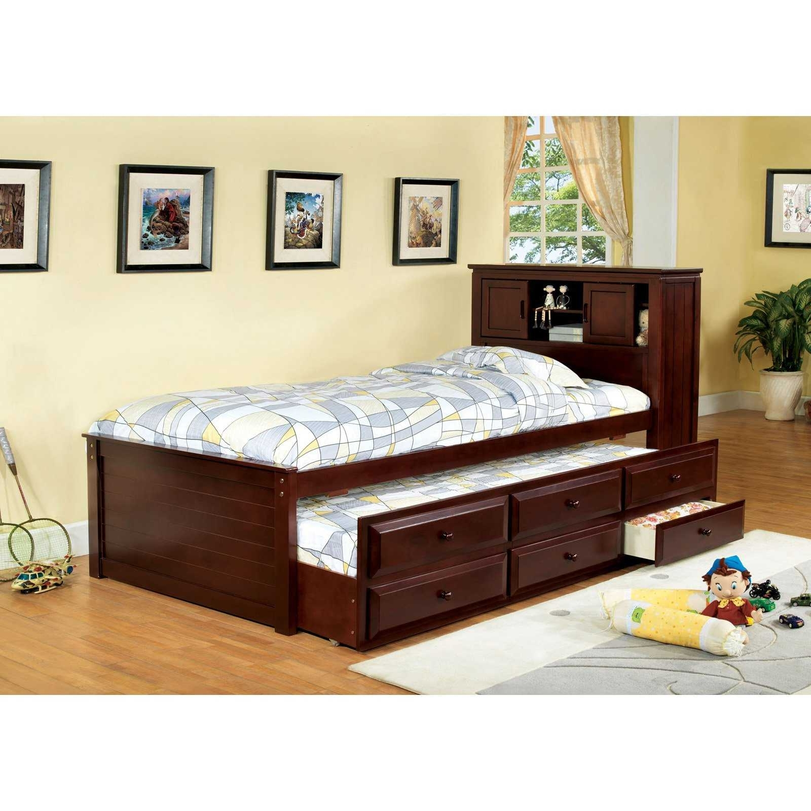 Twin Bed With Bookcases Headboard Pertaining To 2018 Bookcases Ideas Twin Storage Trends Including Attractive Bed With (View 6 of 15)