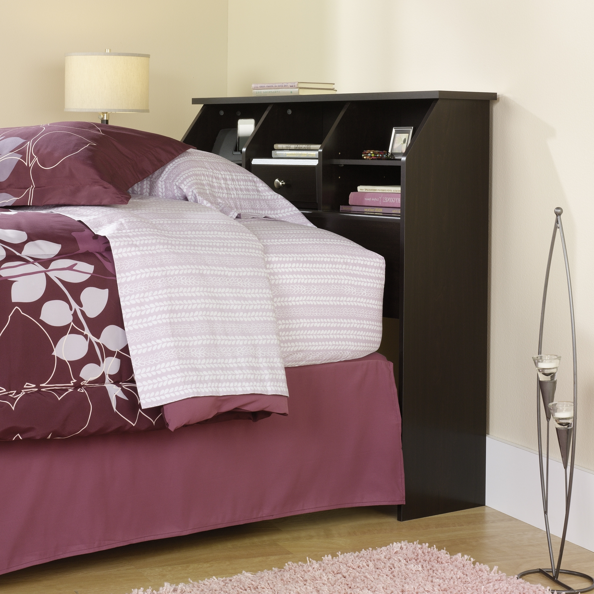 Featured Photo of Twin Headboard Bookcases
