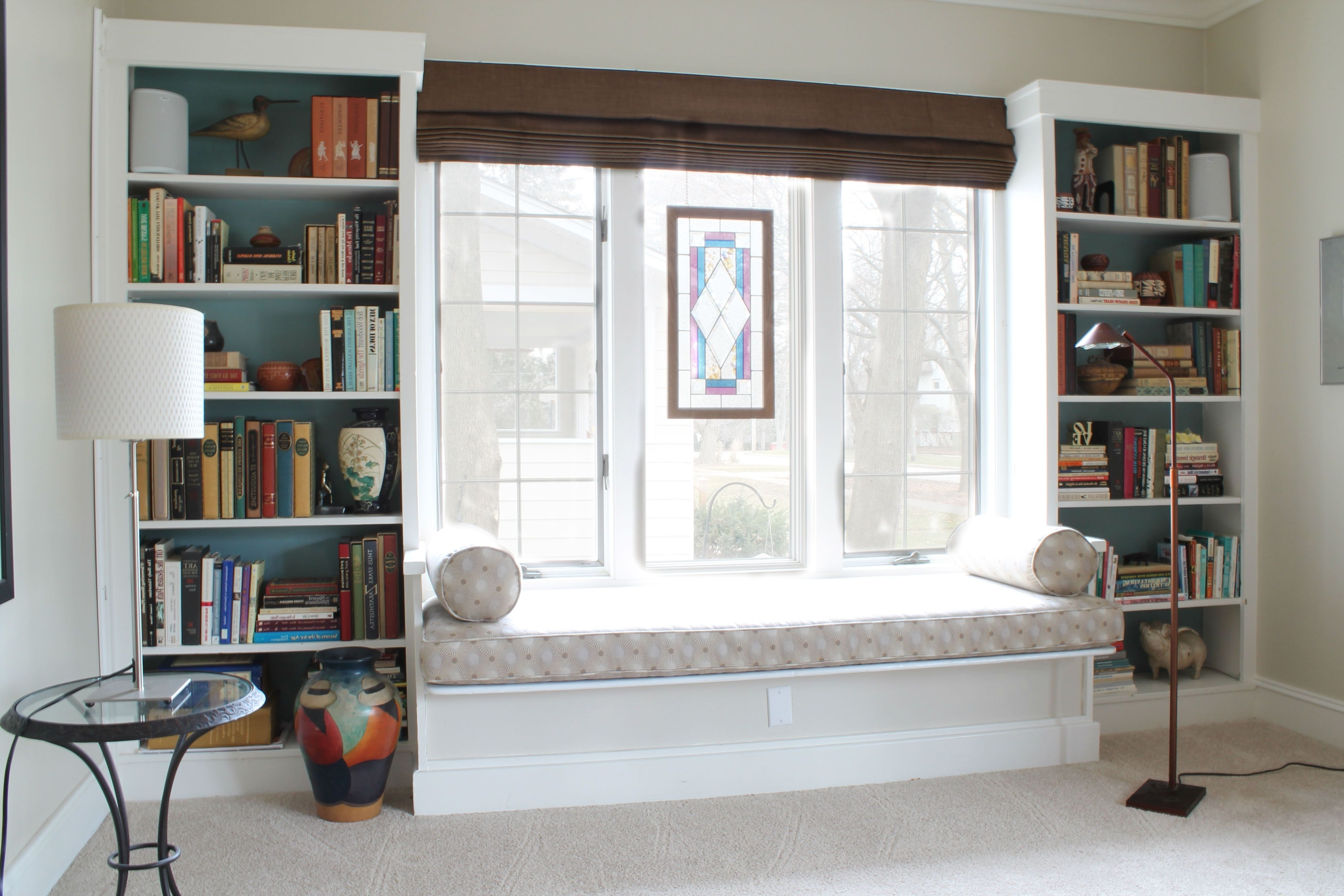 Under Window Bookcases Regarding Best And Newest Under The Window Bookcase (Gallery 7 of 15)