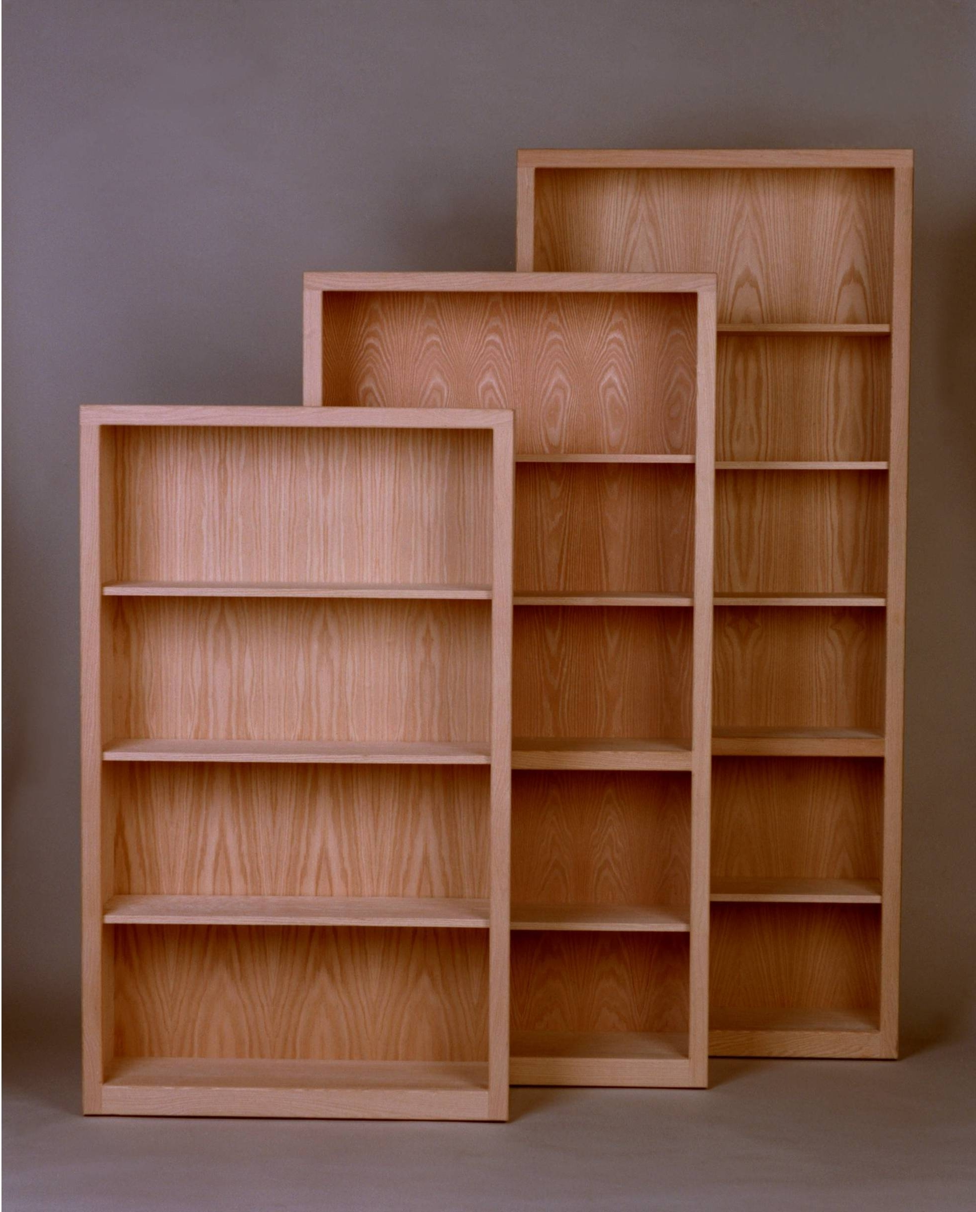 "Unfinished Bookcases Intended For Well Known Contemporary Bookcase 12"" Deep (Gallery 6 of 15)"