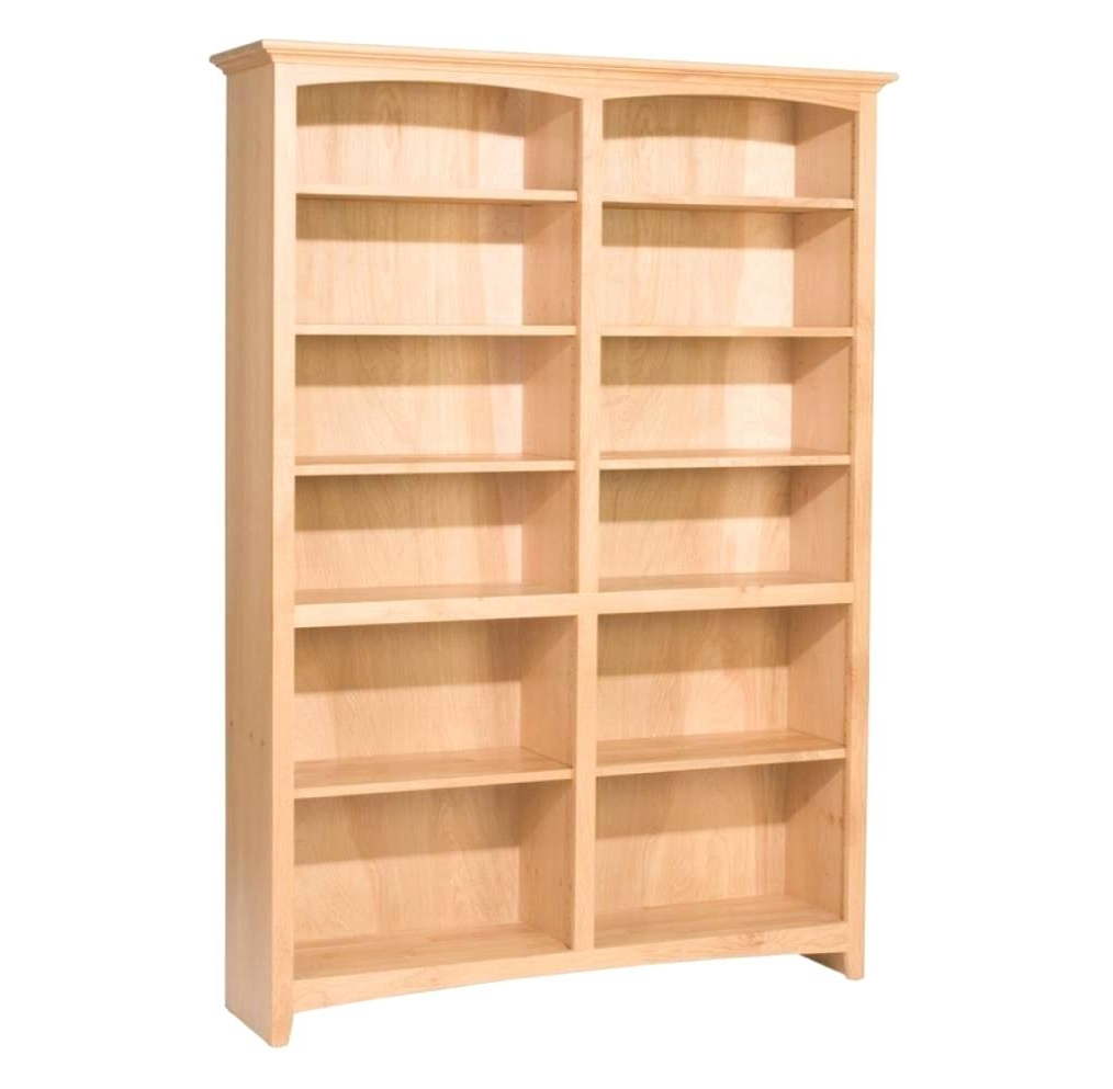 Unfinished Bookcases Regarding Newest Unfinished Bookcases – Zivile (View 8 of 15)