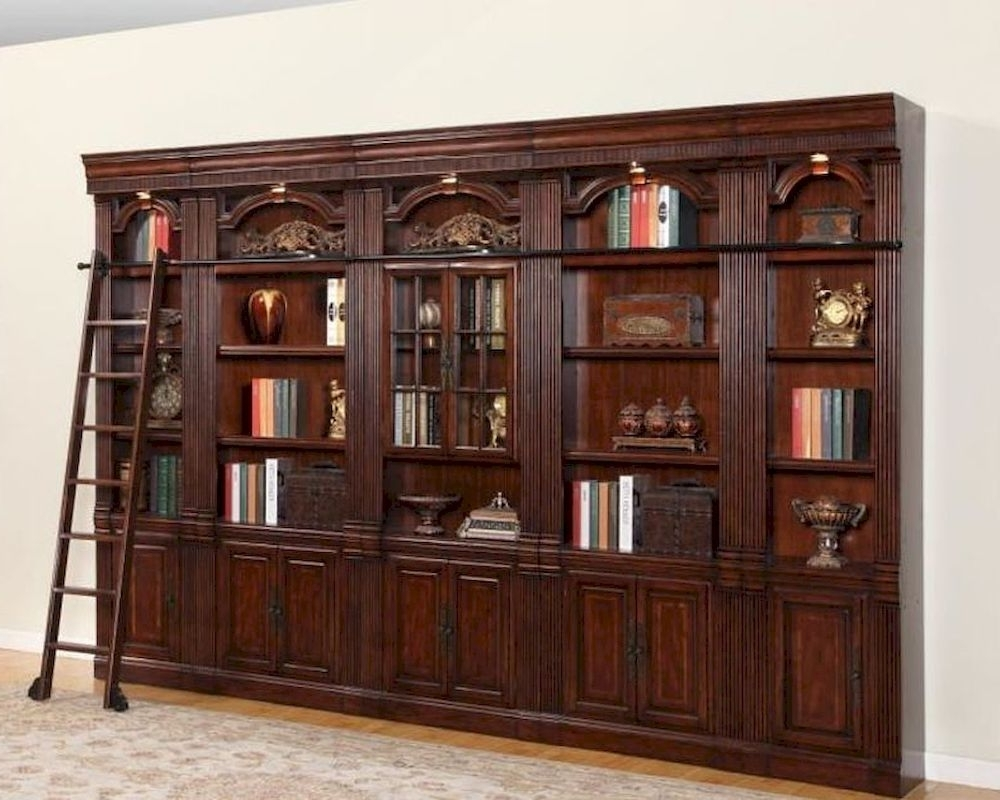 Unforgettable Library Bookcase Pictures Concept Vintage With Regarding Best And Newest Wall Library Bookcases (View 6 of 15)