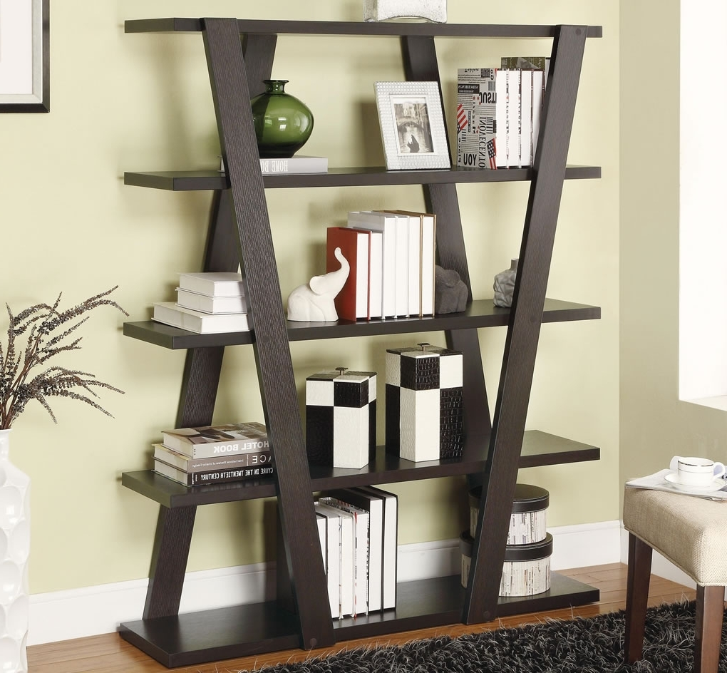 Unique Wooden Bookcase Plans : Doherty House – Creative Diy Inside 2018 Unique Bookcases (View 15 of 15)