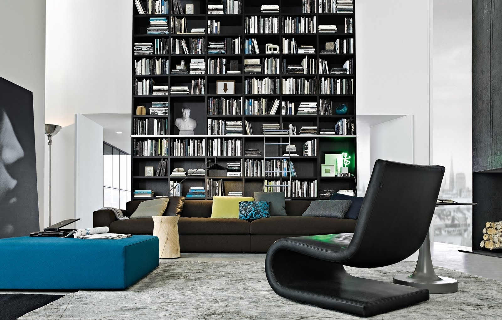 Very Tall Bookcases In Current Modern Bookcases ~ Home Design (View 13 of 15)