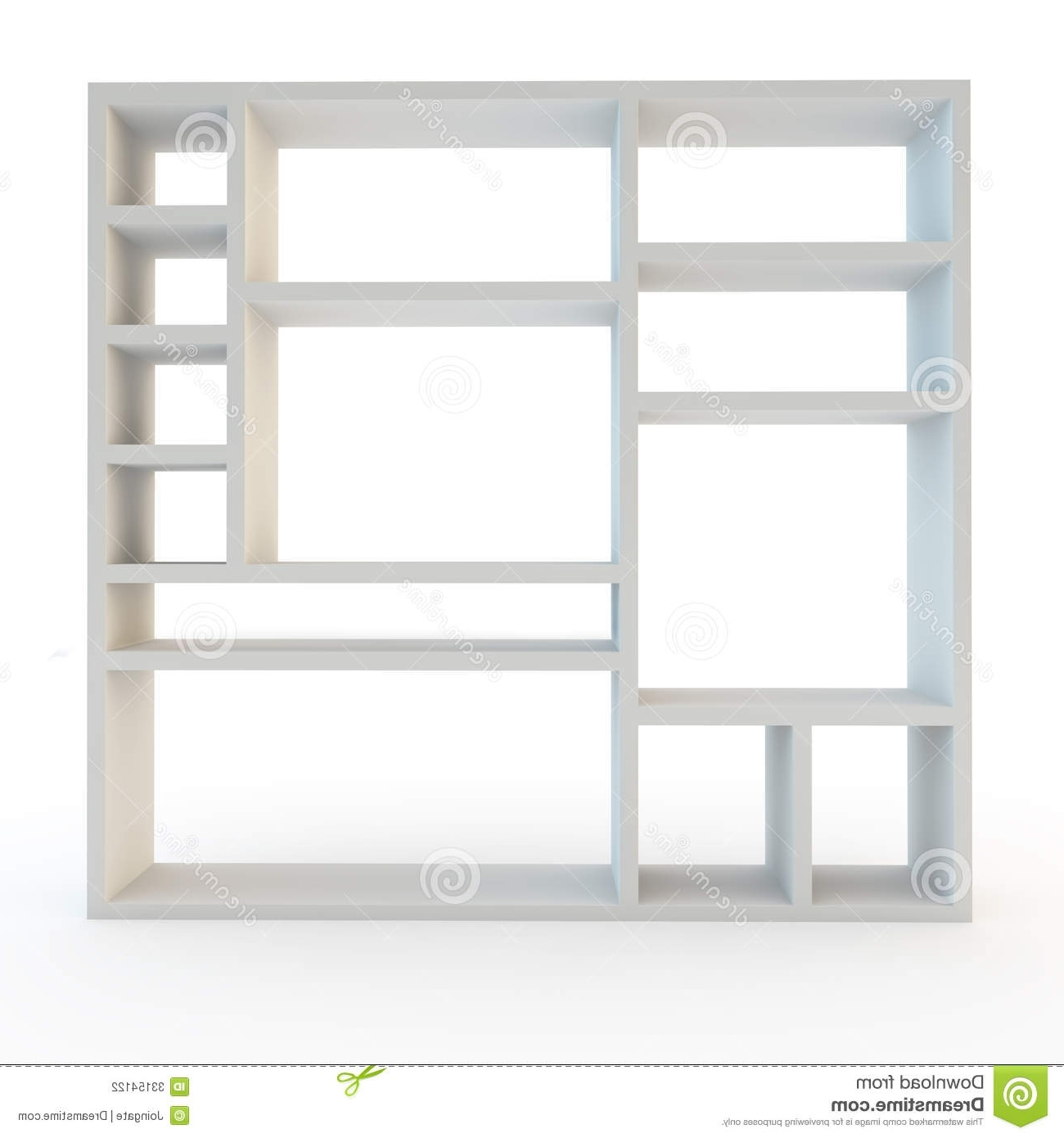 Wall Shelves Design: Modern Design White Wall Shelving Units White With Widely Used White Shelving Units (View 9 of 15)