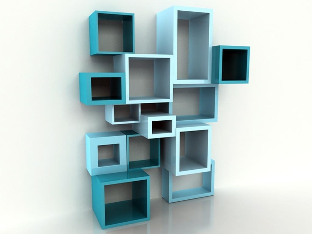 Wall Shelving Units Regarding Popular Cube Wall Shelving Units (View 15 of 15)