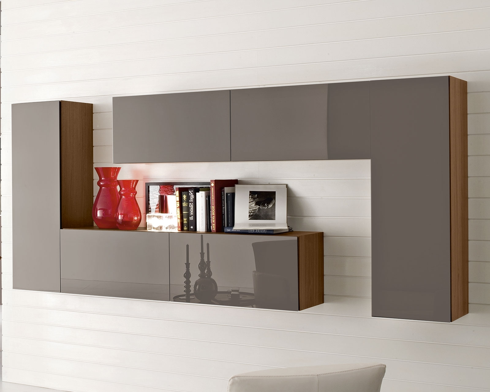 Wall Storage Units Regarding Preferred Furniture Enjoyable Shelving Units With L Shaped Wall Mounted Also (View 9 of 15)