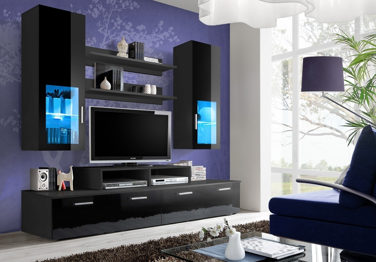 Wall Units For Living Room Within Famous Wall Units For Living Room Toledo 3 Modern Living Room Ideaforhome (View 12 of 15)