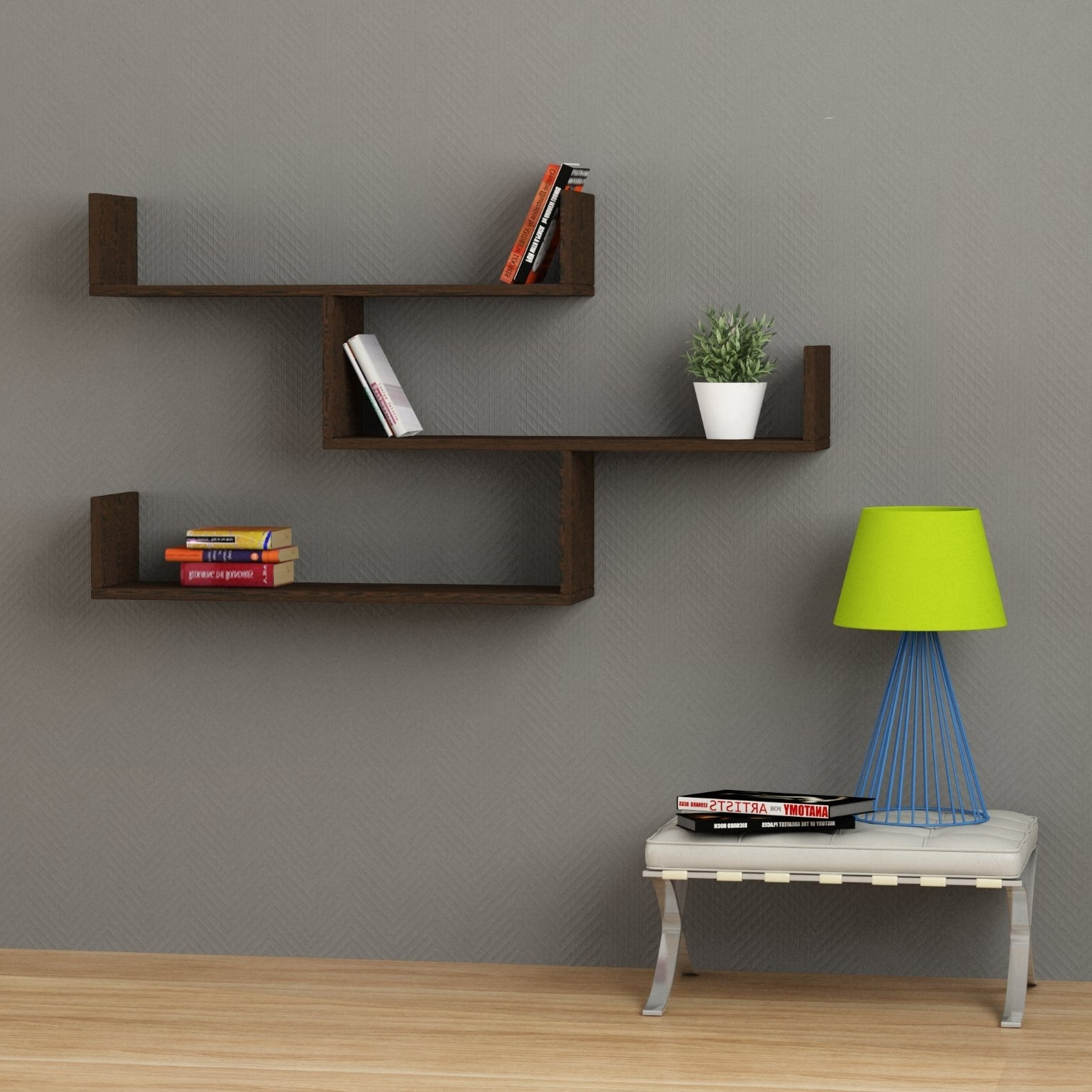 Wall Units: Hanging Bookshelves Ideas Wall Hanging Bookshelf With Regard To Well Known Hanging Bookcases (View 14 of 15)