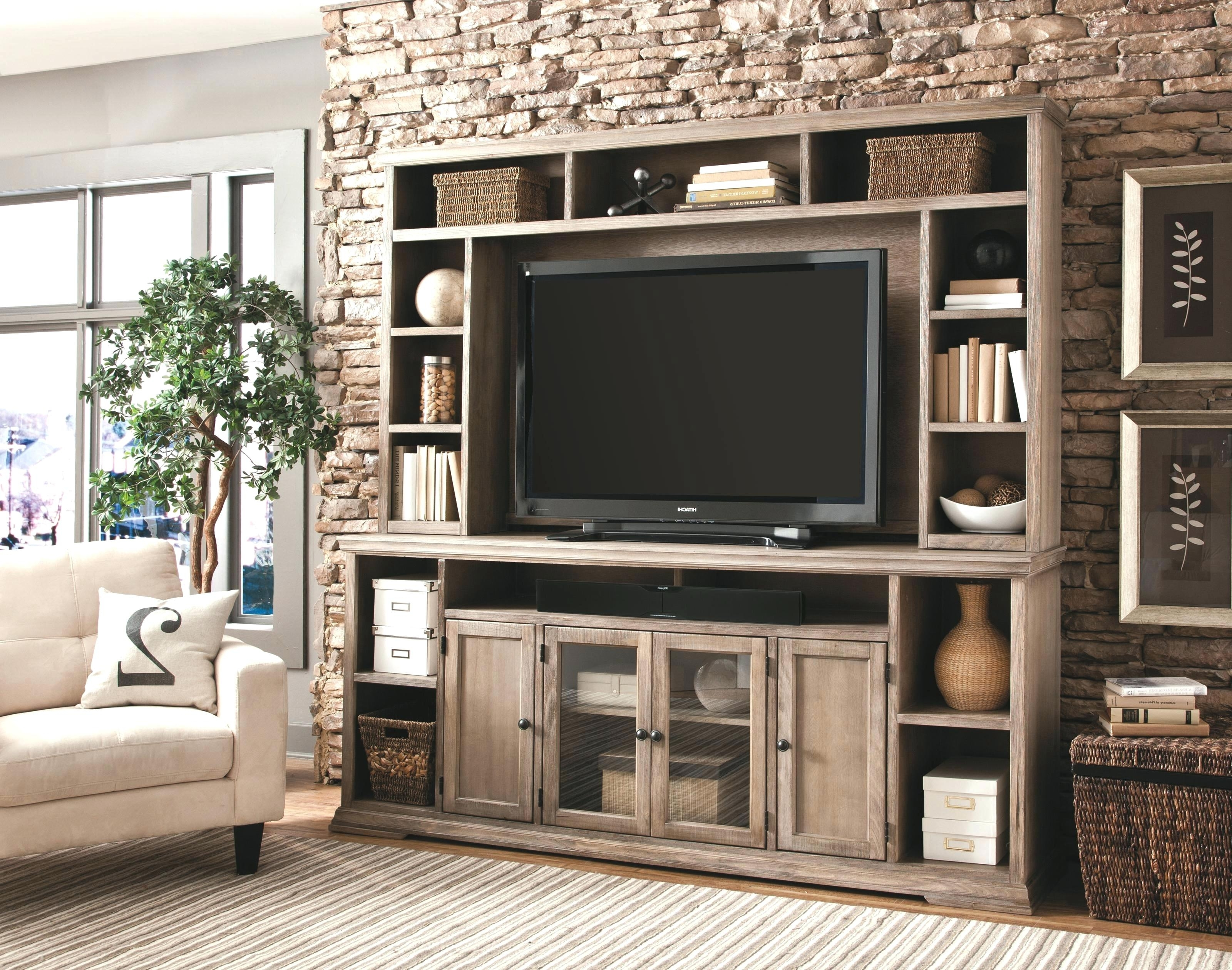 Wall Units: Inspiring Ashley Furniture Wall Unit Entertainment With Regard To Preferred Bookcases With Tv Storage (View 14 of 15)