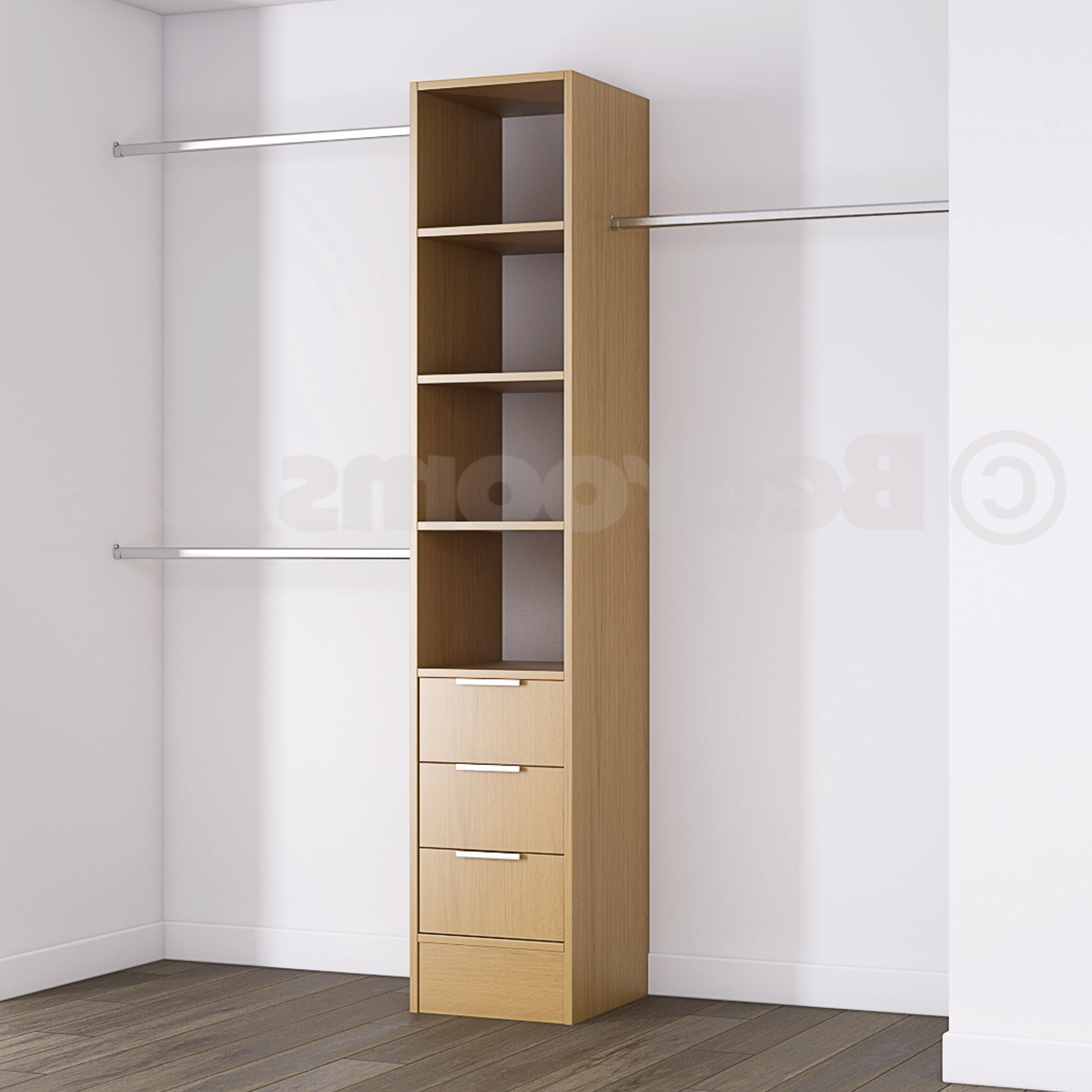 Wardrobe Shelves, Drawers And Storage For Sliding Wardrobes In Well Known Wardrobes With Shelves And Drawers (View 9 of 15)