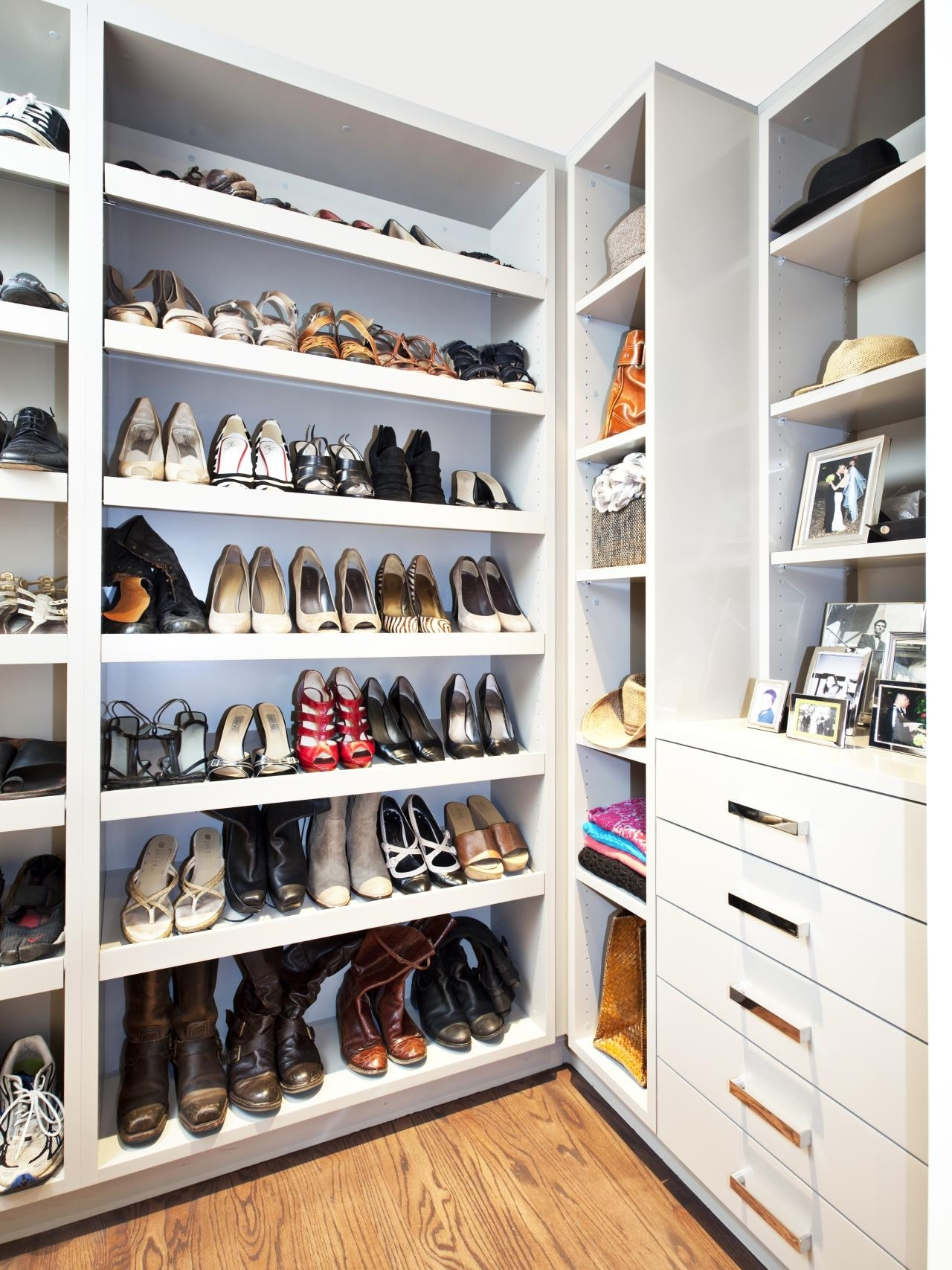 Wardrobes Shoe Storages Pertaining To 2018 Closet Storage : Shoe Cabinet Dimensions Diy Shoe Rack Cardboard (View 14 of 15)