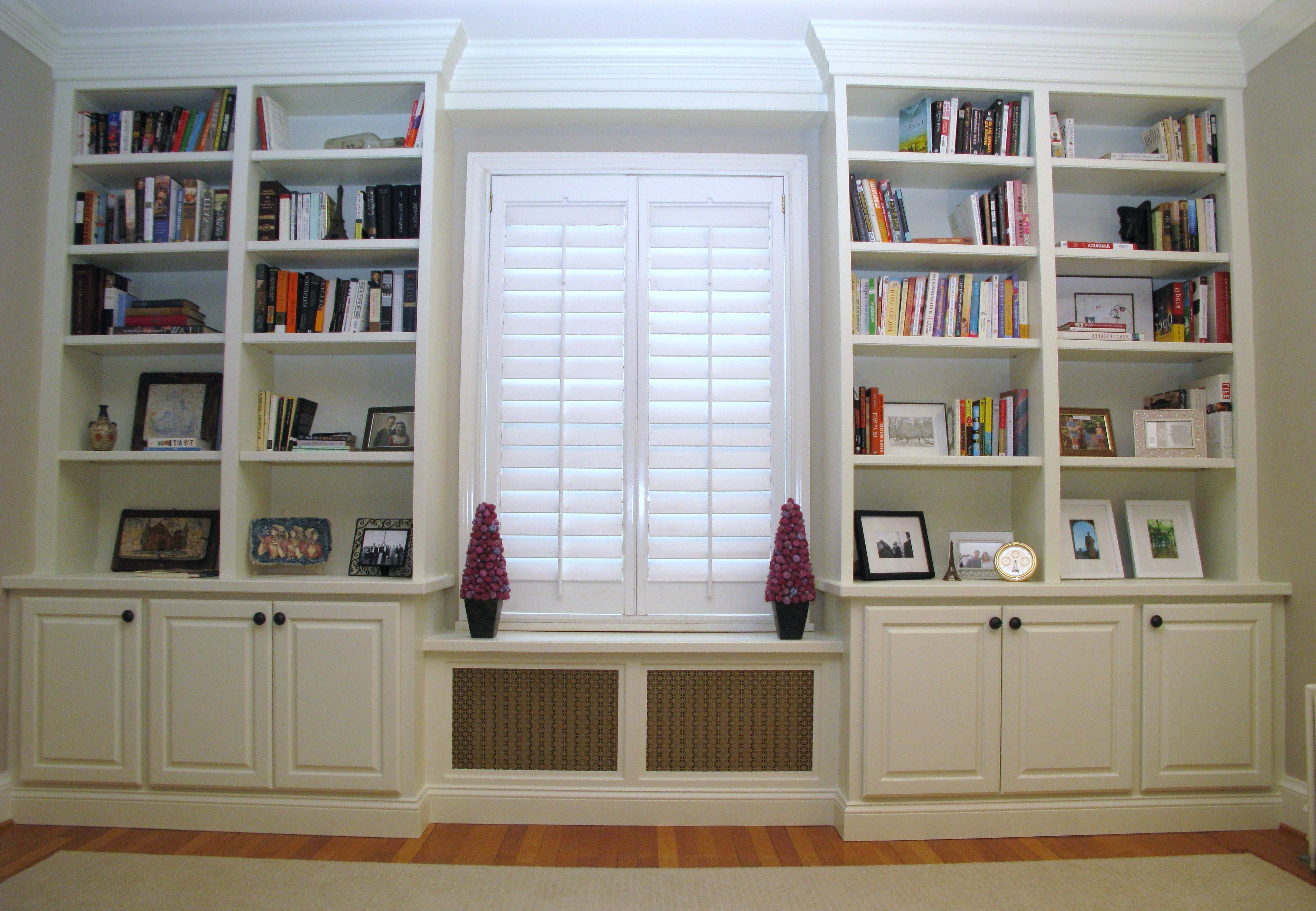 Washington Dc Custom Radiator Cover Contractor, Remodeling Within Trendy Radiator Cover And Bookcases (View 13 of 15)