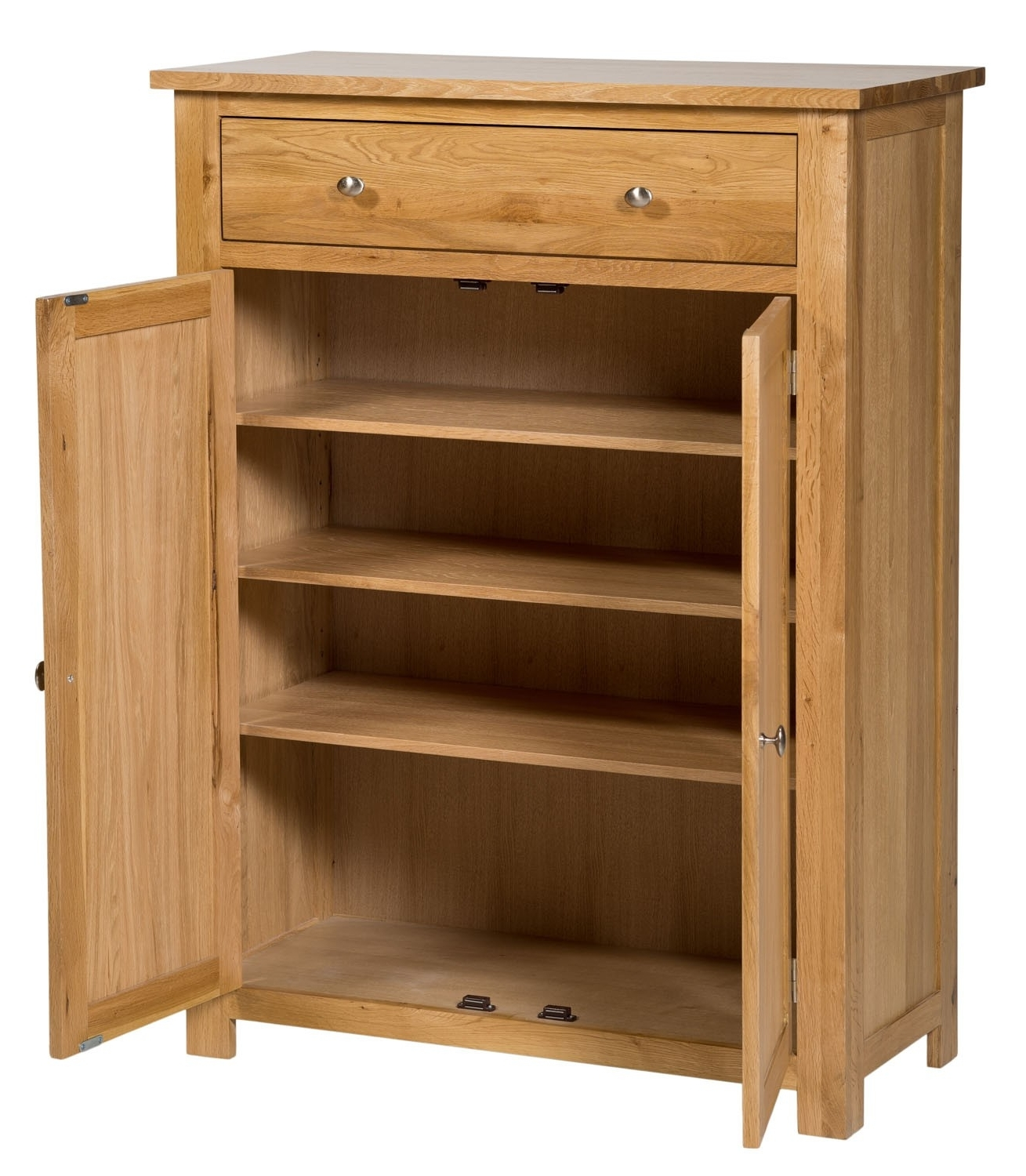 Waverly Oak Storage Cupboard / Shoe Cabinet (View 15 of 15)