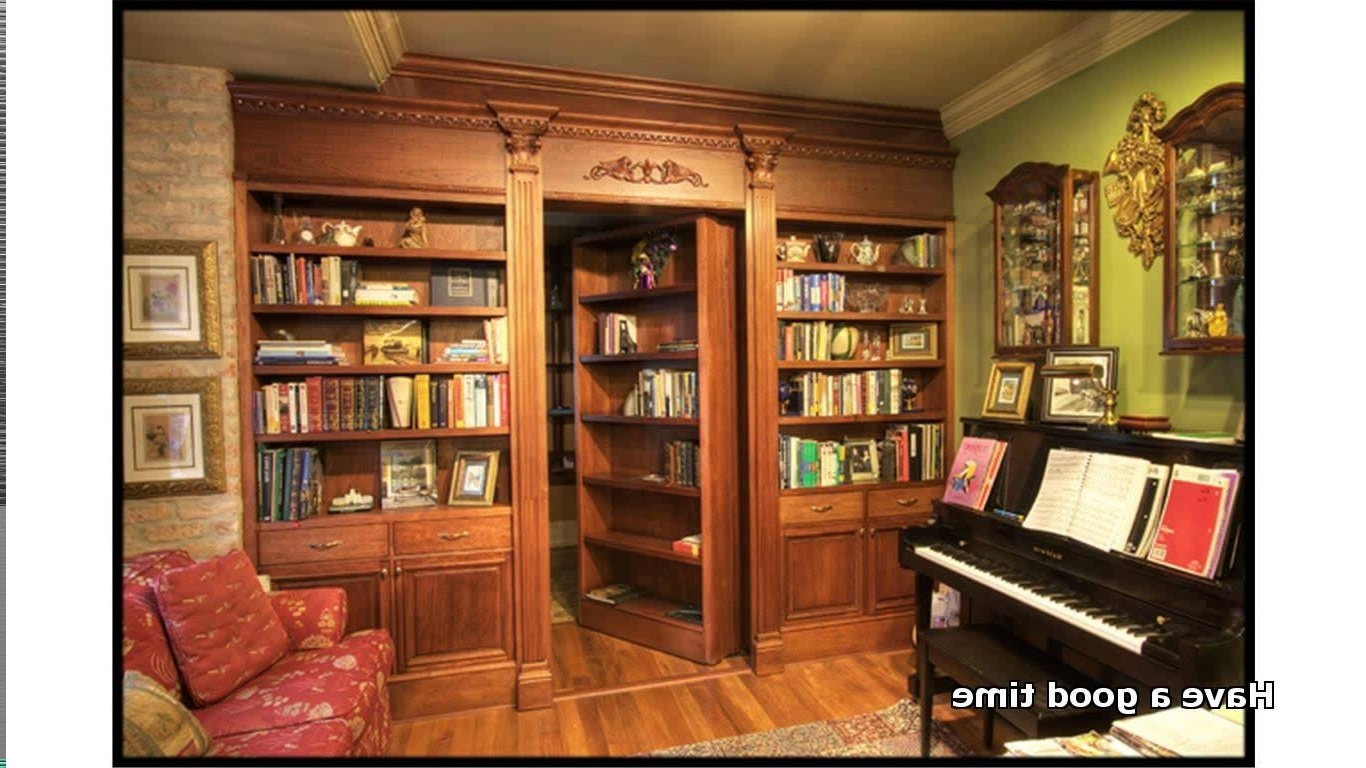 Well Known Best How To Build Secret Bookcase Door Design Decor Lovely In How Throughout Secret Door Bookcases (View 2 of 15)