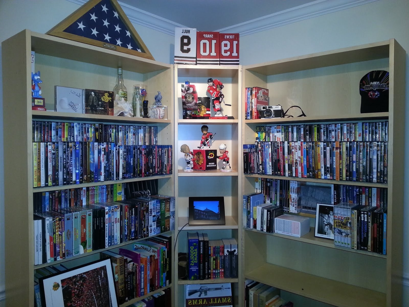 Featured Photo of Dvd Bookcases