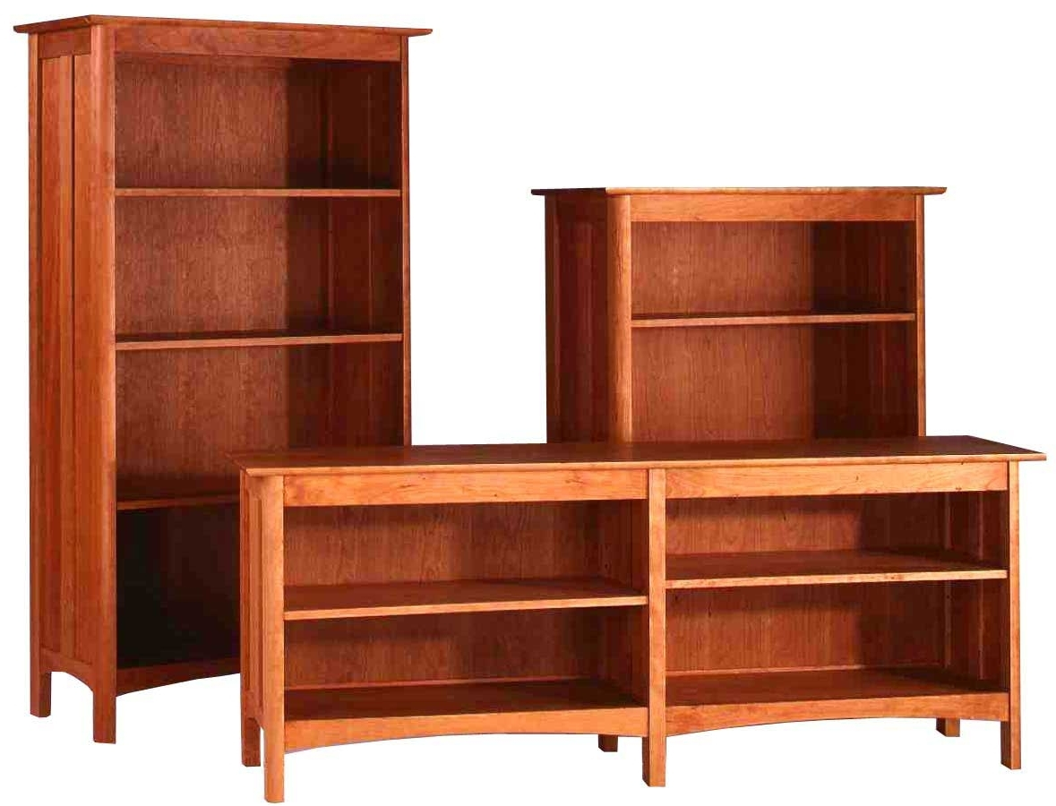 Well Known Bookcases Ideas: Affordable Hardwood Bookcase For Dream Room Pertaining To Wooden Bookcases (View 11 of 15)