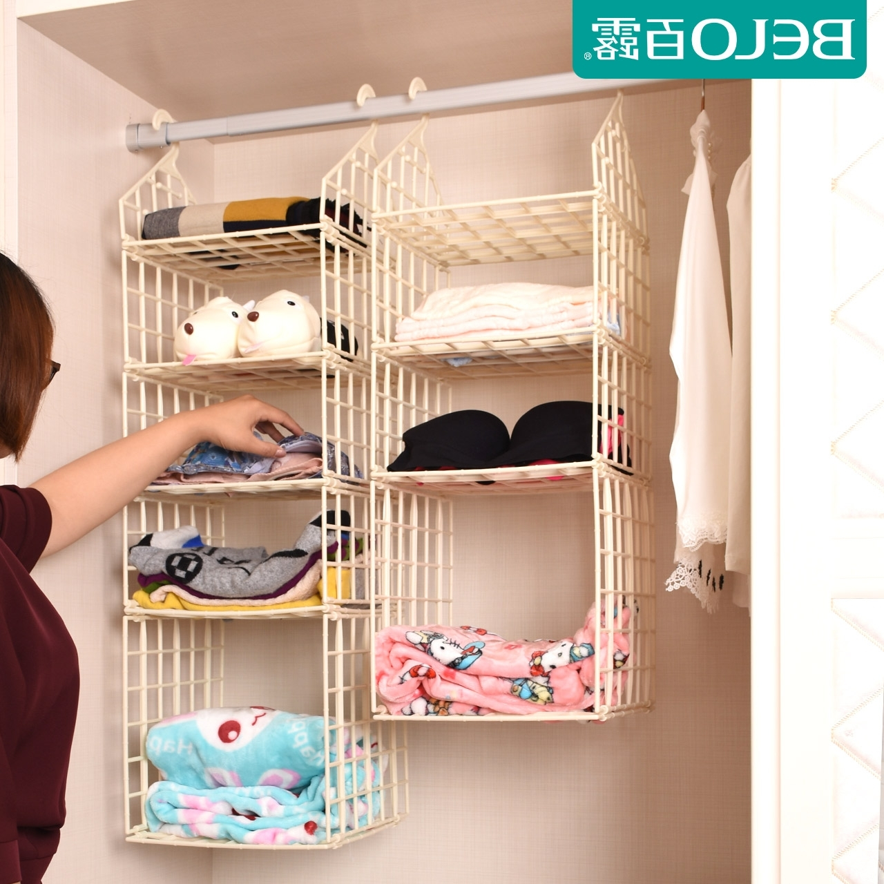 Well Known Buy Wardrobe Storage Bag Hanging Plastic Storage Cabinets Wardrobe With Plastic Wardrobes Box (View 15 of 15)
