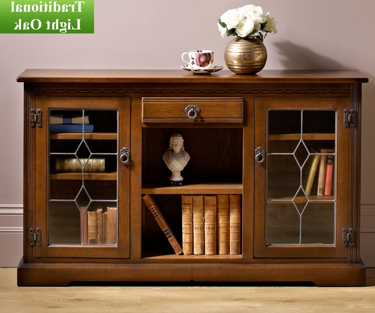 Well Known Classic Bookshelves With Low Bookcase With Doors Awesome Old Charm Classic 2793 Glass (View 12 of 15)