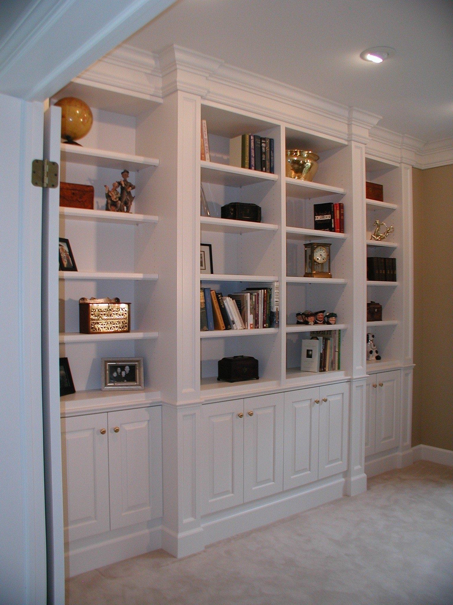 Well Known Custom Made Bookshelves Intended For Custom Made Bookshelf – Artenzo (View 14 of 15)