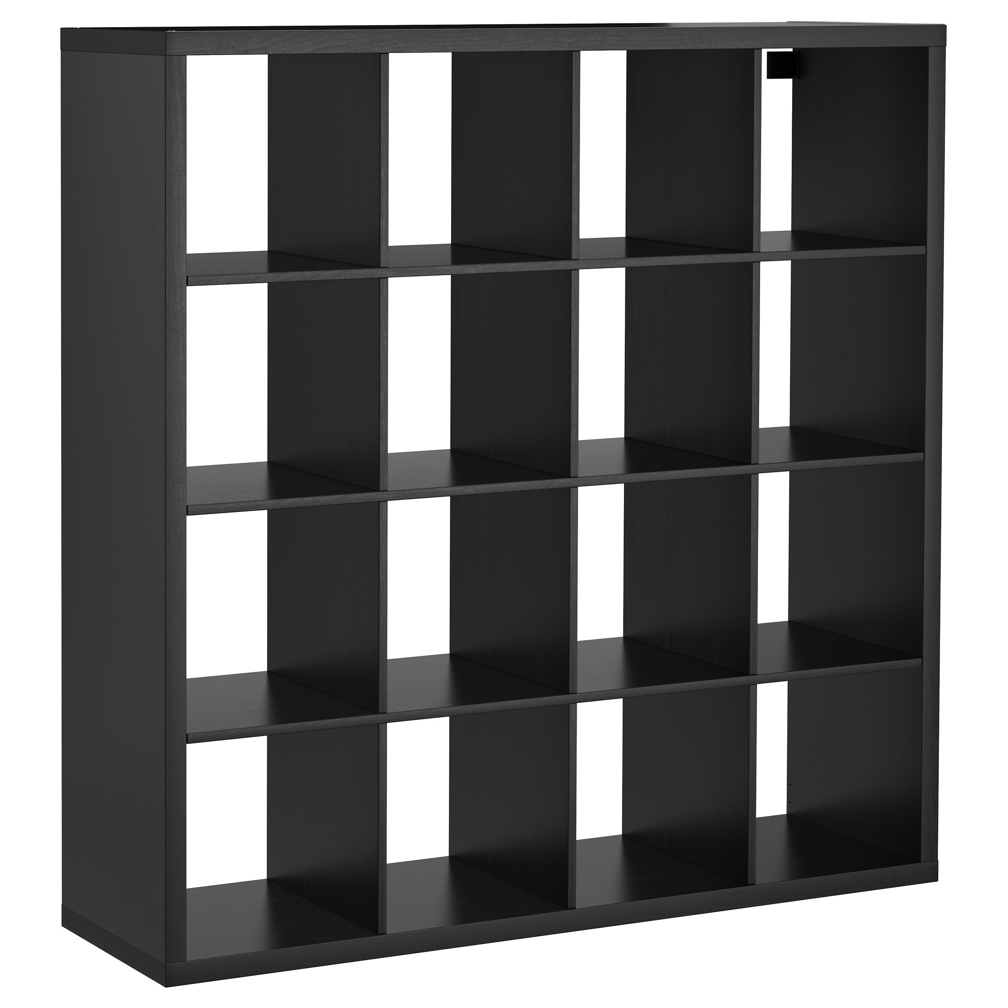 Well Known Expedit Bookcases Regarding Kallax Shelf Unit – Black Brown – Ikea (View 7 of 15)